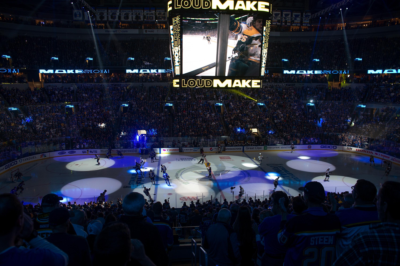Boston Bruins v St Louis Blues - Game Four