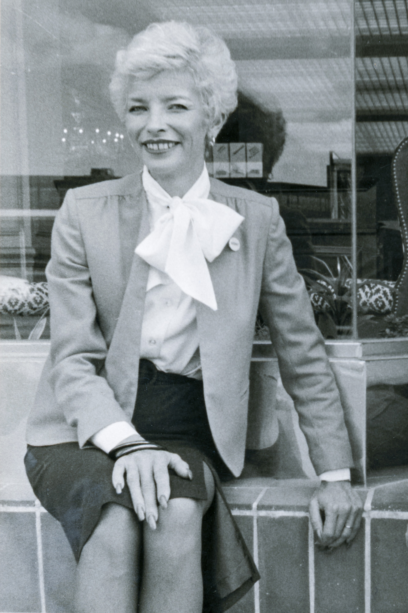Joyce Yost poses for a photo outside of an Ogden business in this undated picture.