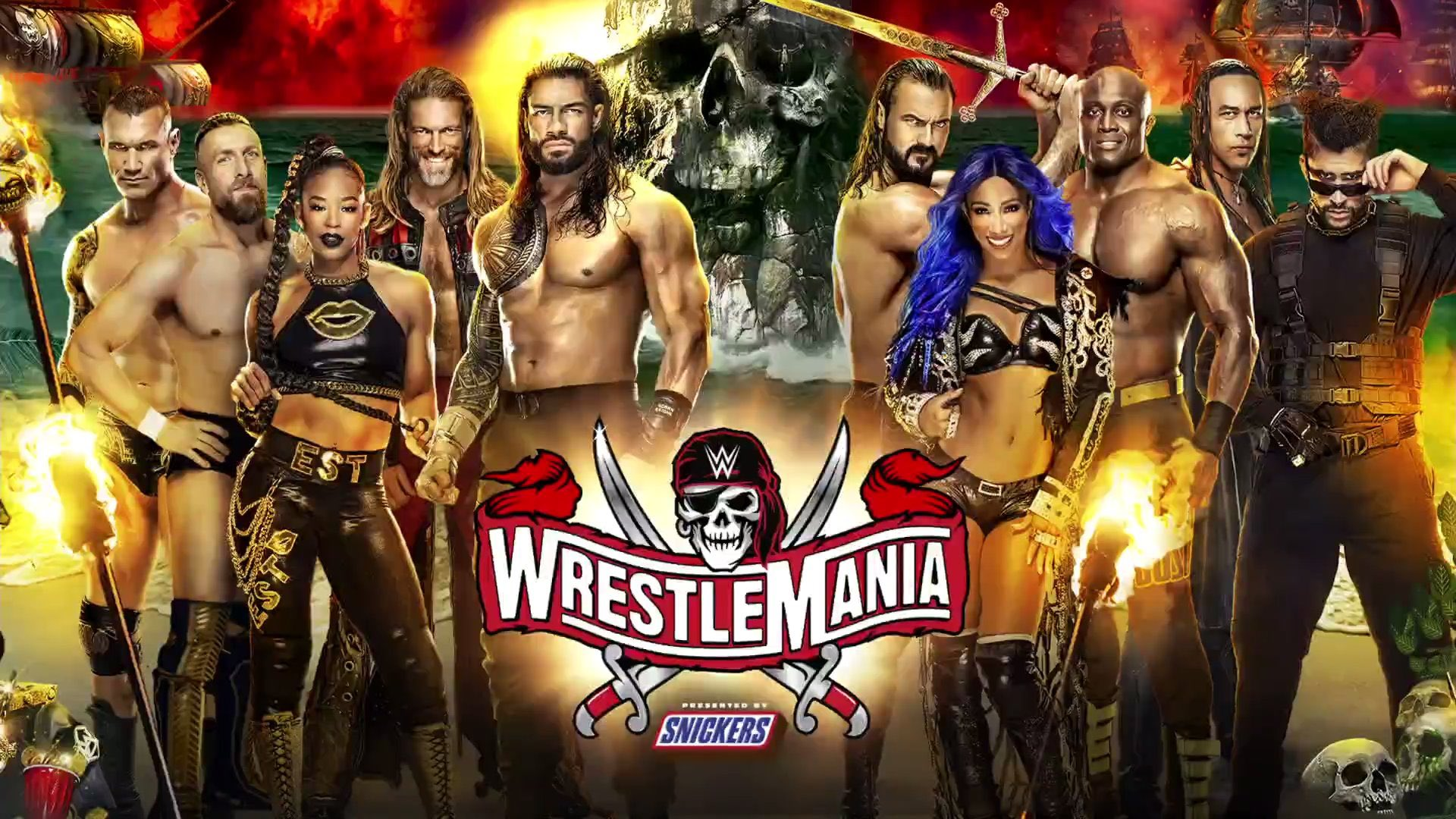 WrestleMania 37 poster