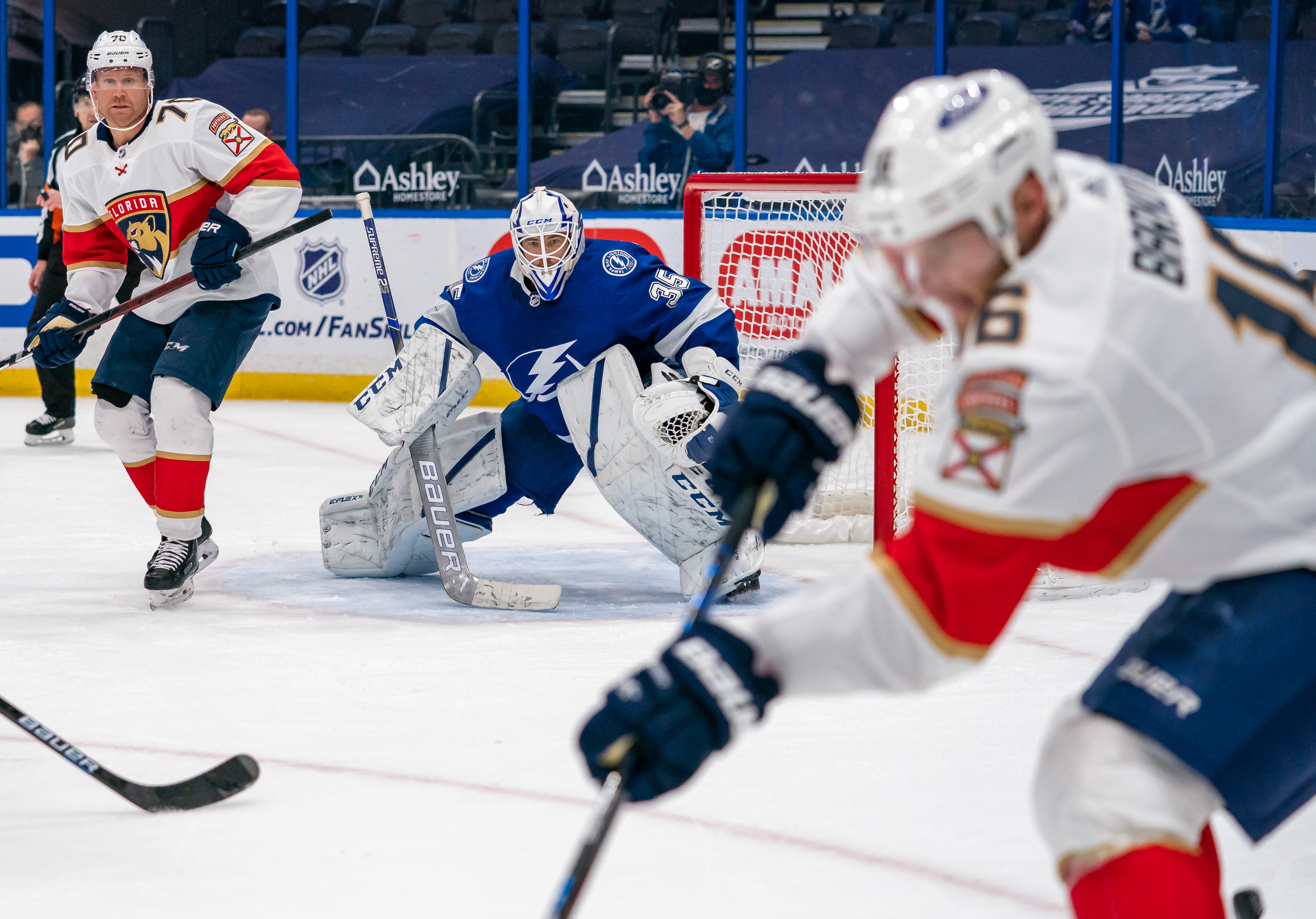 NHL: MAR 21 Panthers at Lightning