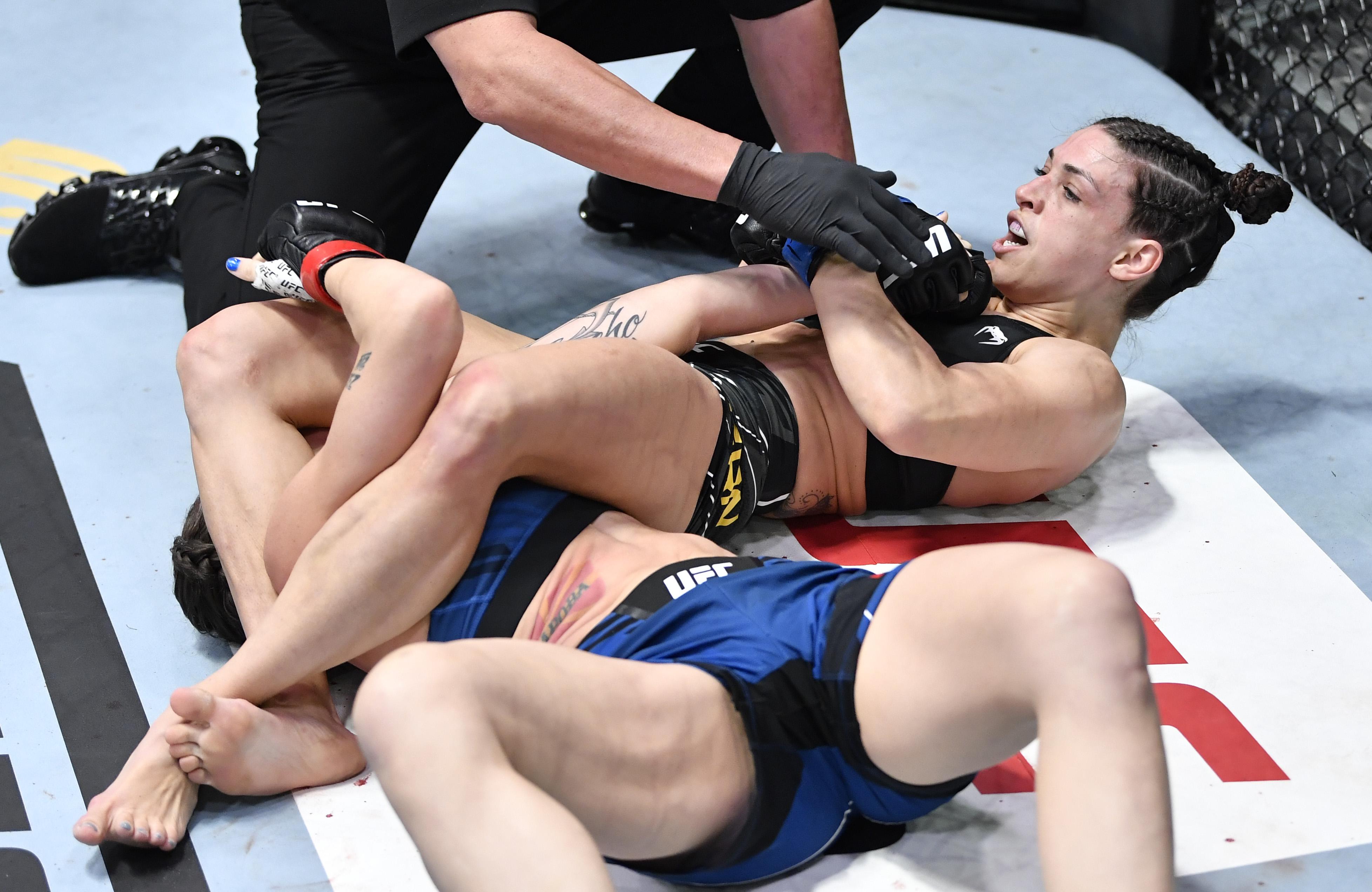 UFC打击夜晚:努尼斯v dern