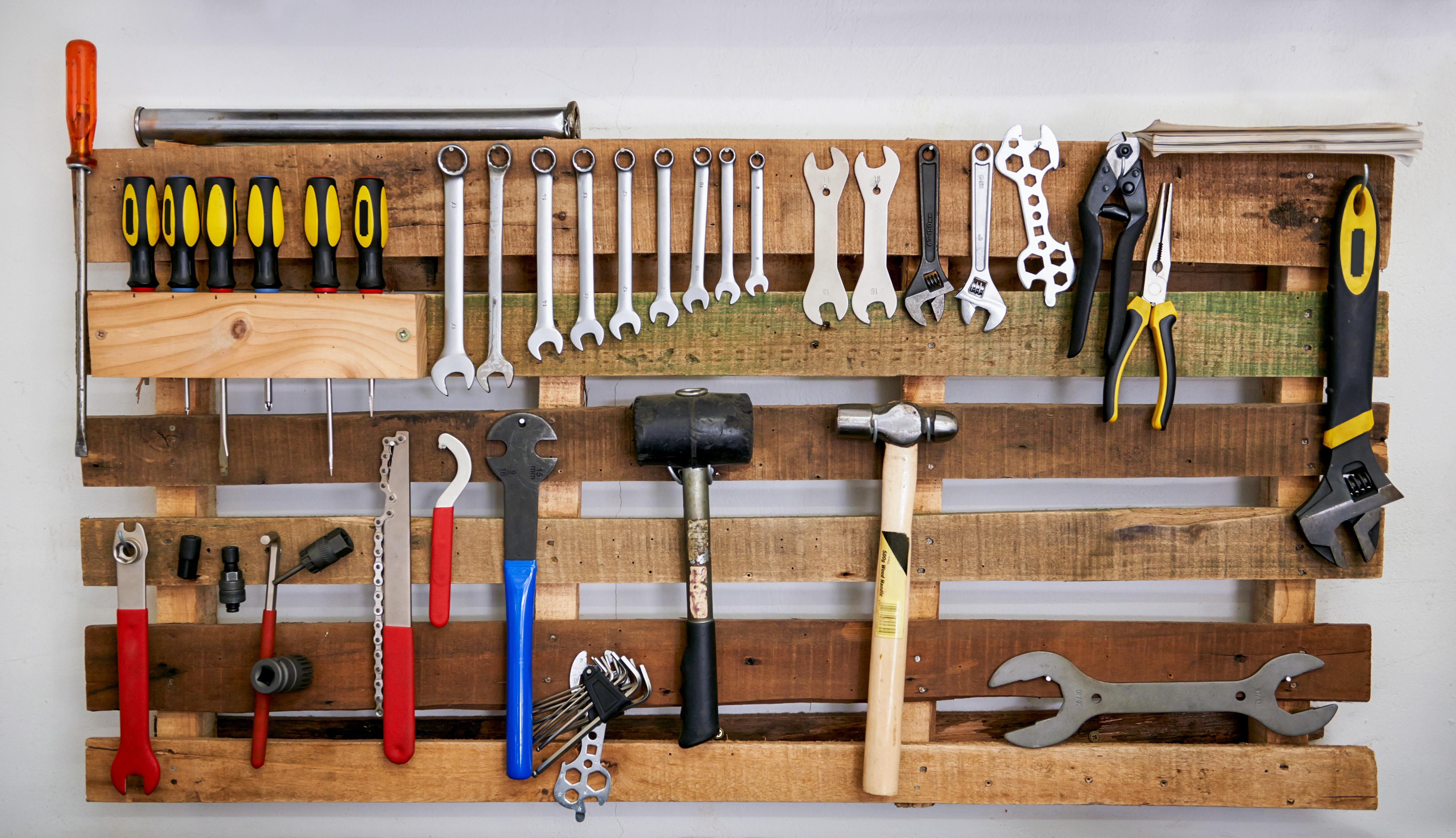 basement Wall storage, Storage, Wall Storage, Pegboard
