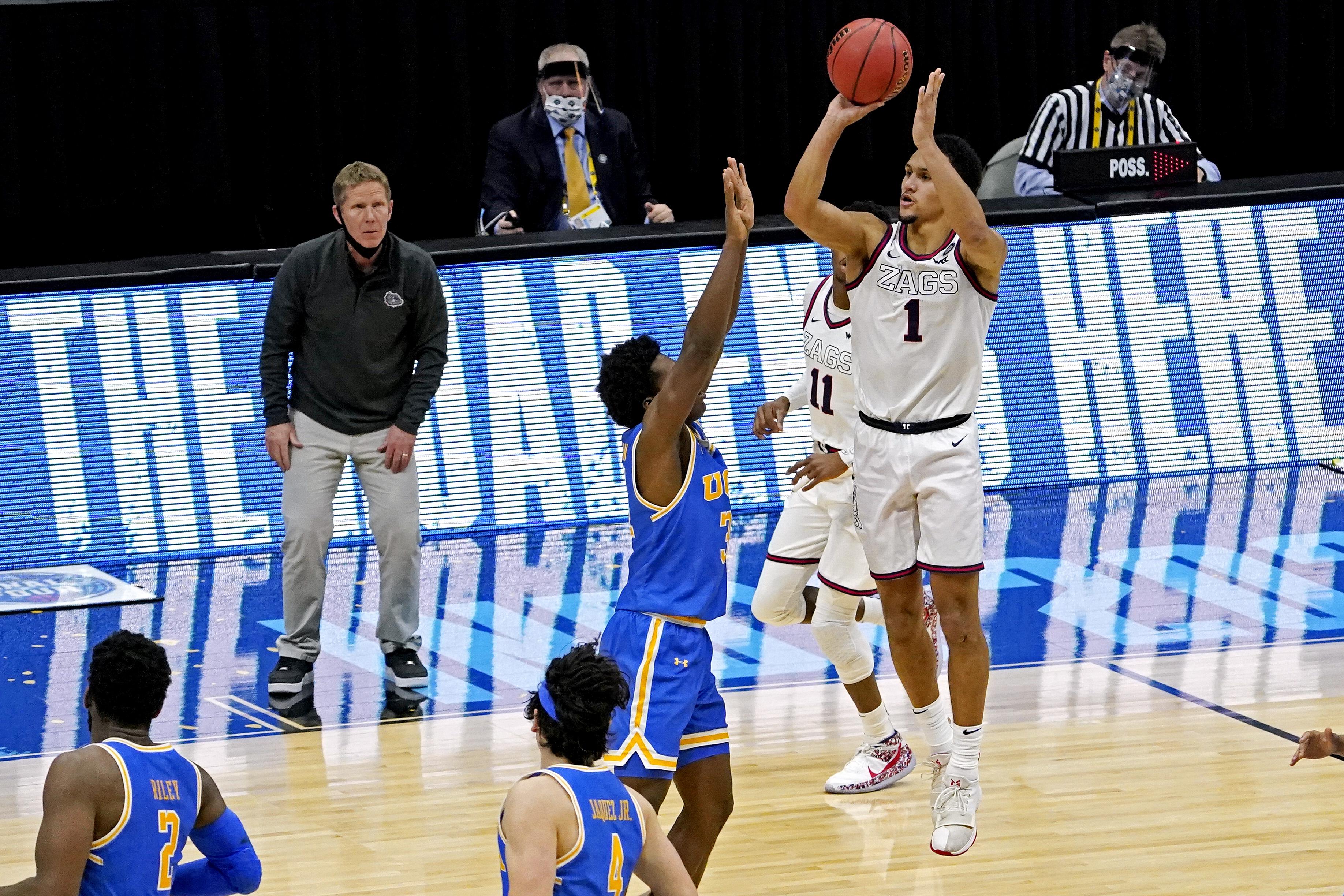NCAA Basketball: Final Four-UCLA at Gonzaga