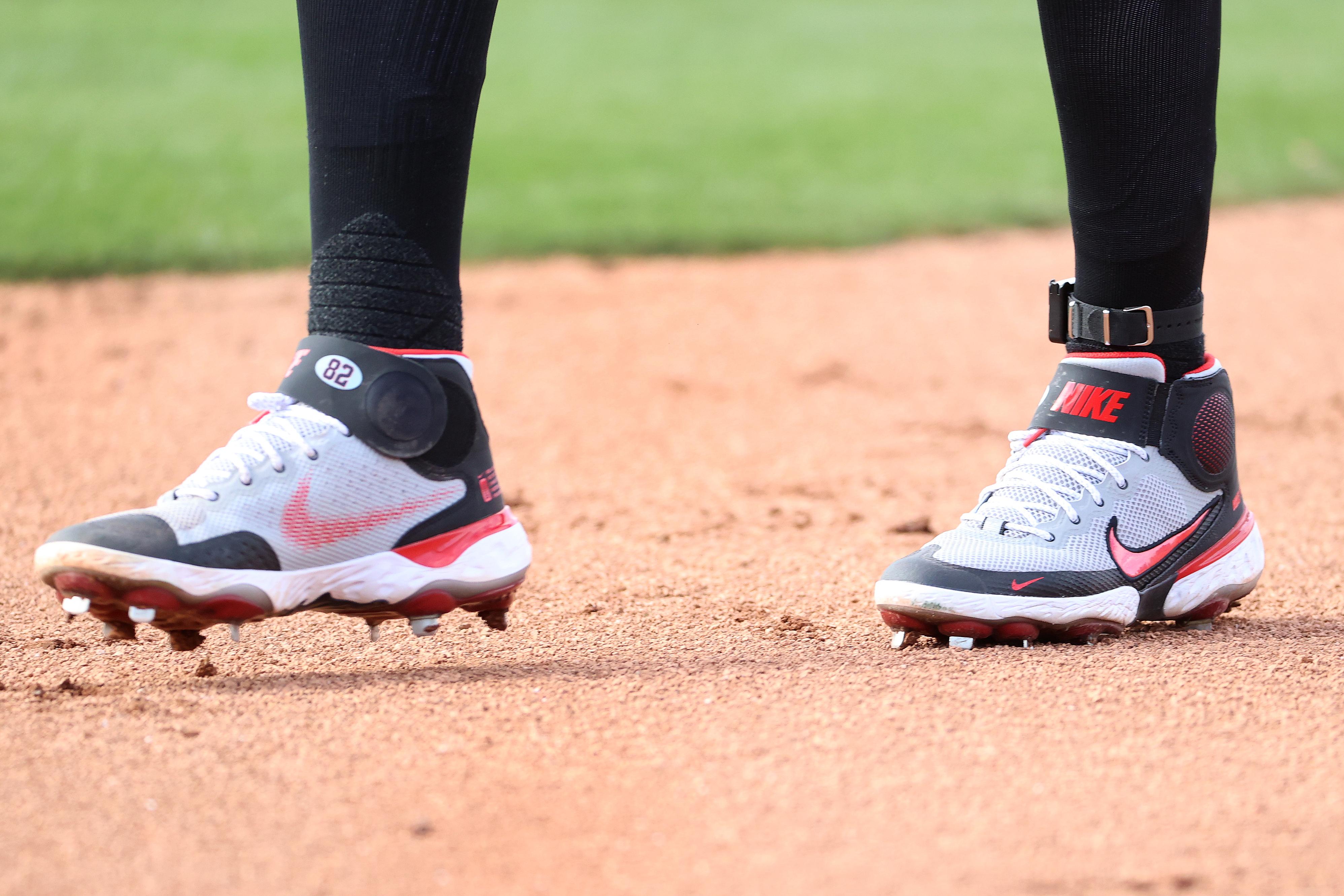 Geraldo Perdomo's shoes.