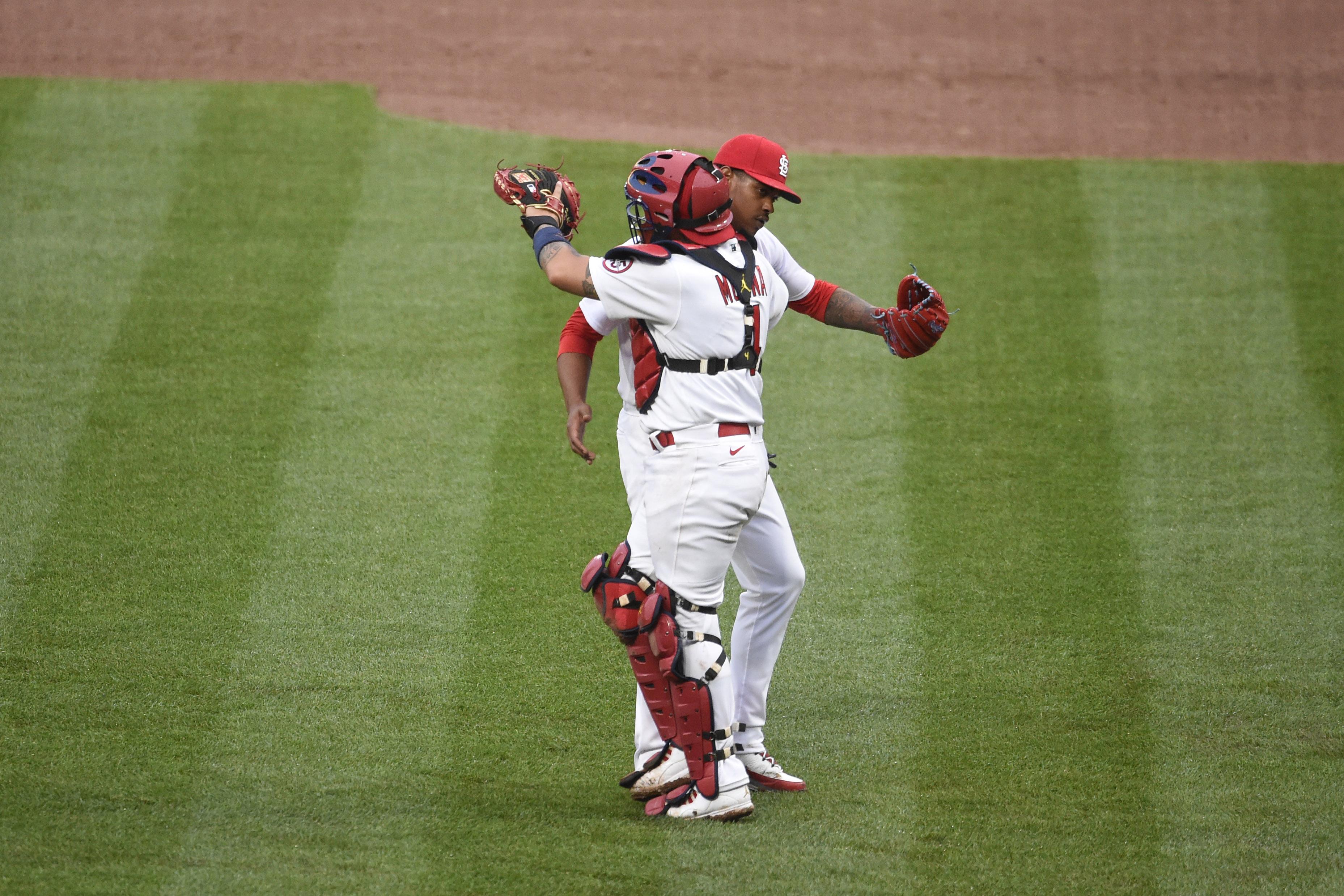 美国职业棒球大联盟:密尔沃基酿酒人队对阵圣路易斯红雀队