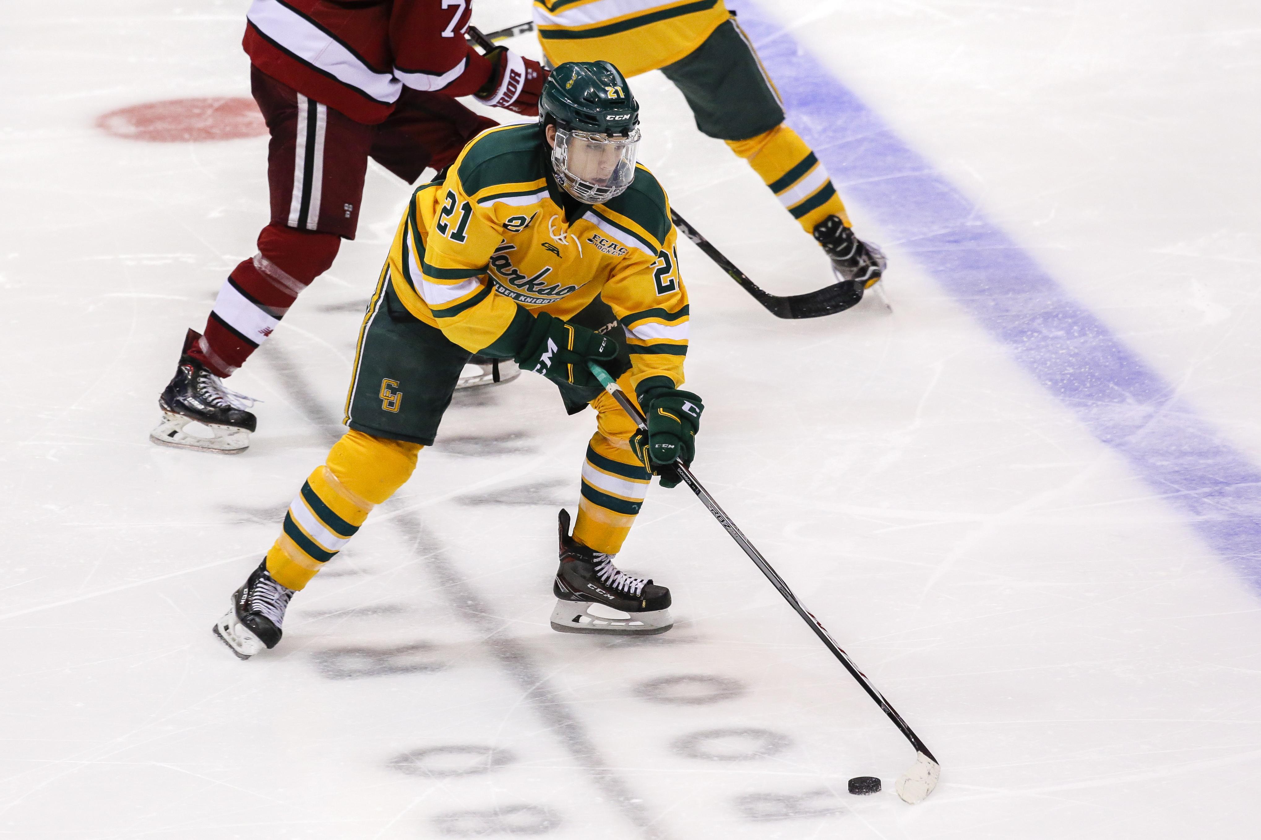 COLLEGE HOCKEY: MAR 16 ECAC Hockey Championship - Harvard v Clarkson
