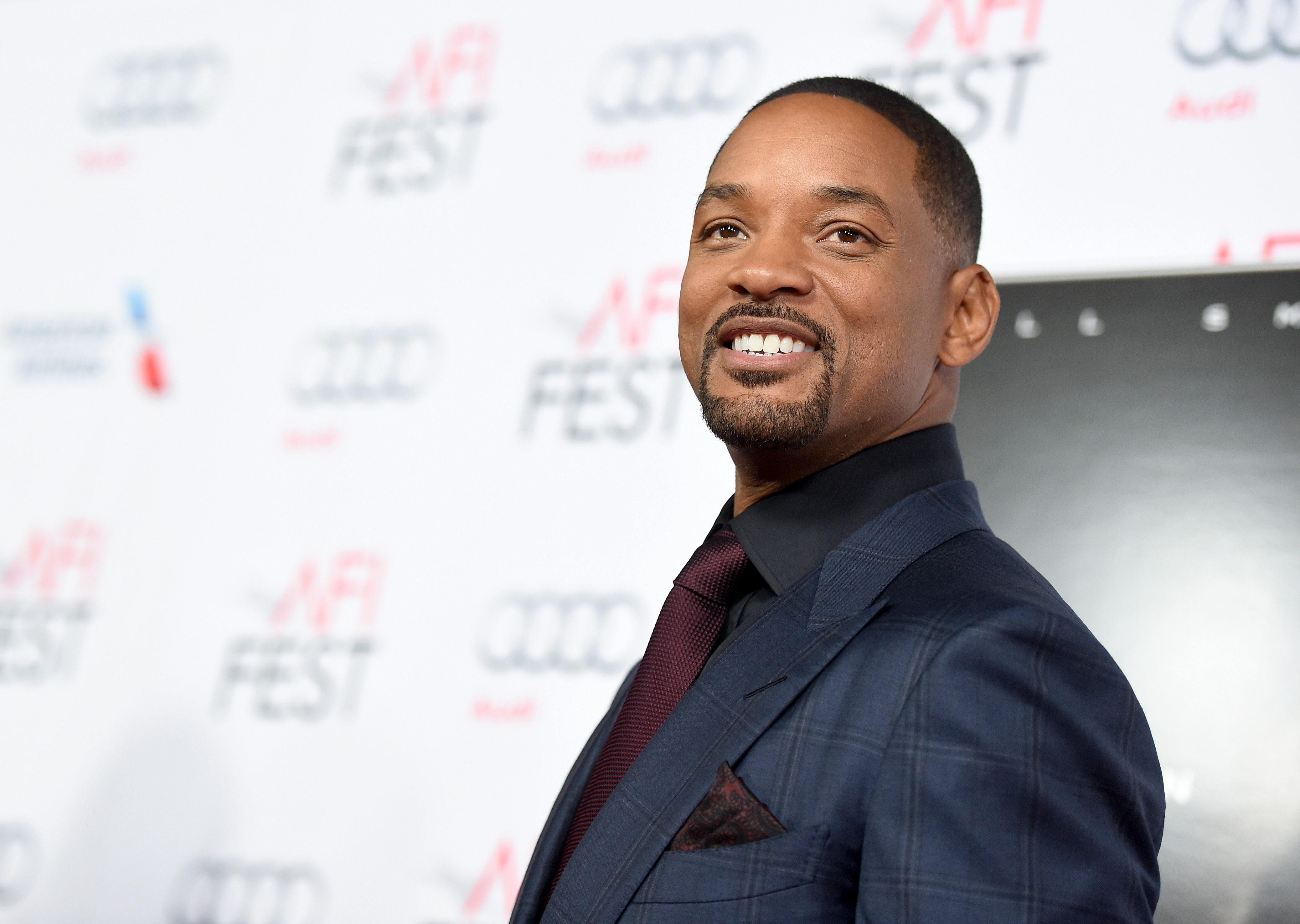 """Actor Will Smith attends the Centerpiece Gala Premiere of Columbia Pictures' """"Concussion"""" during AFI FEST 2015 presented by Audi at TCL Chinese Theatre on November 10, 2015 in Hollywood, California."""