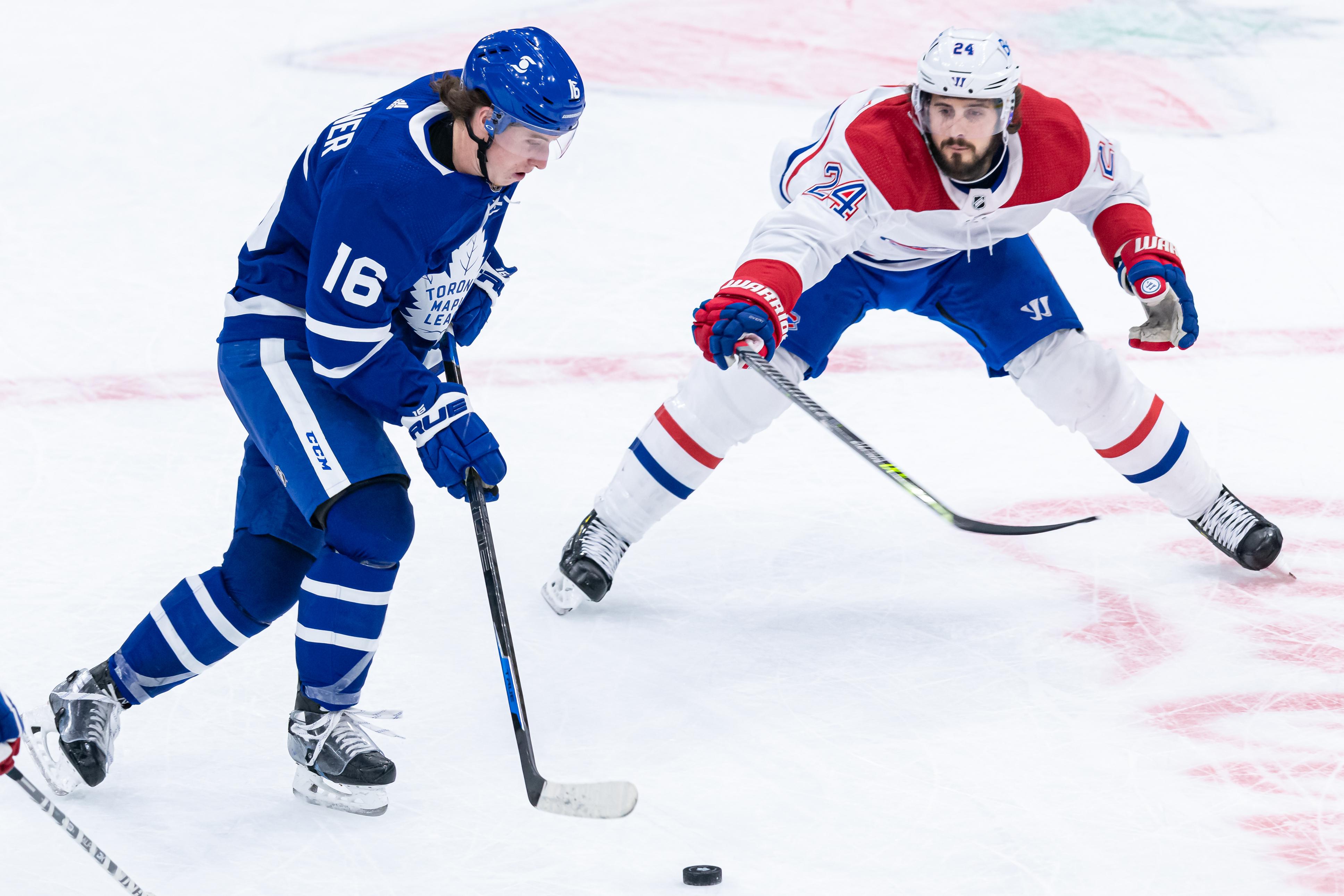 NHL: APR 07 Canadiens at Maple Leafs