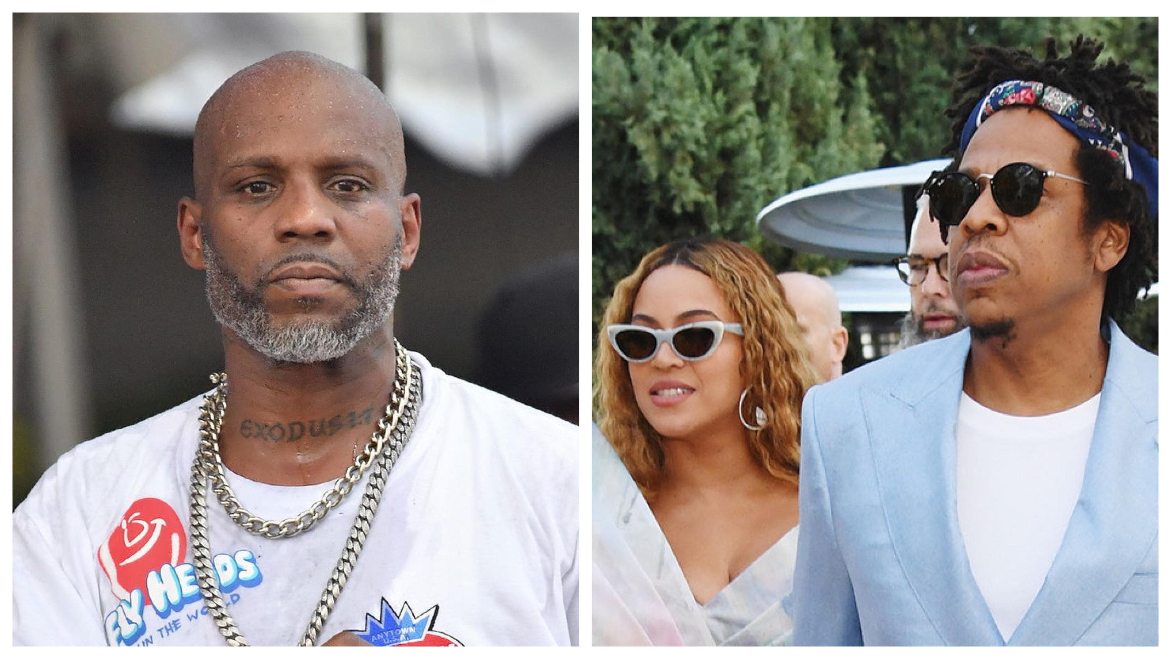 DMX, JAY-Z and Beyoncé