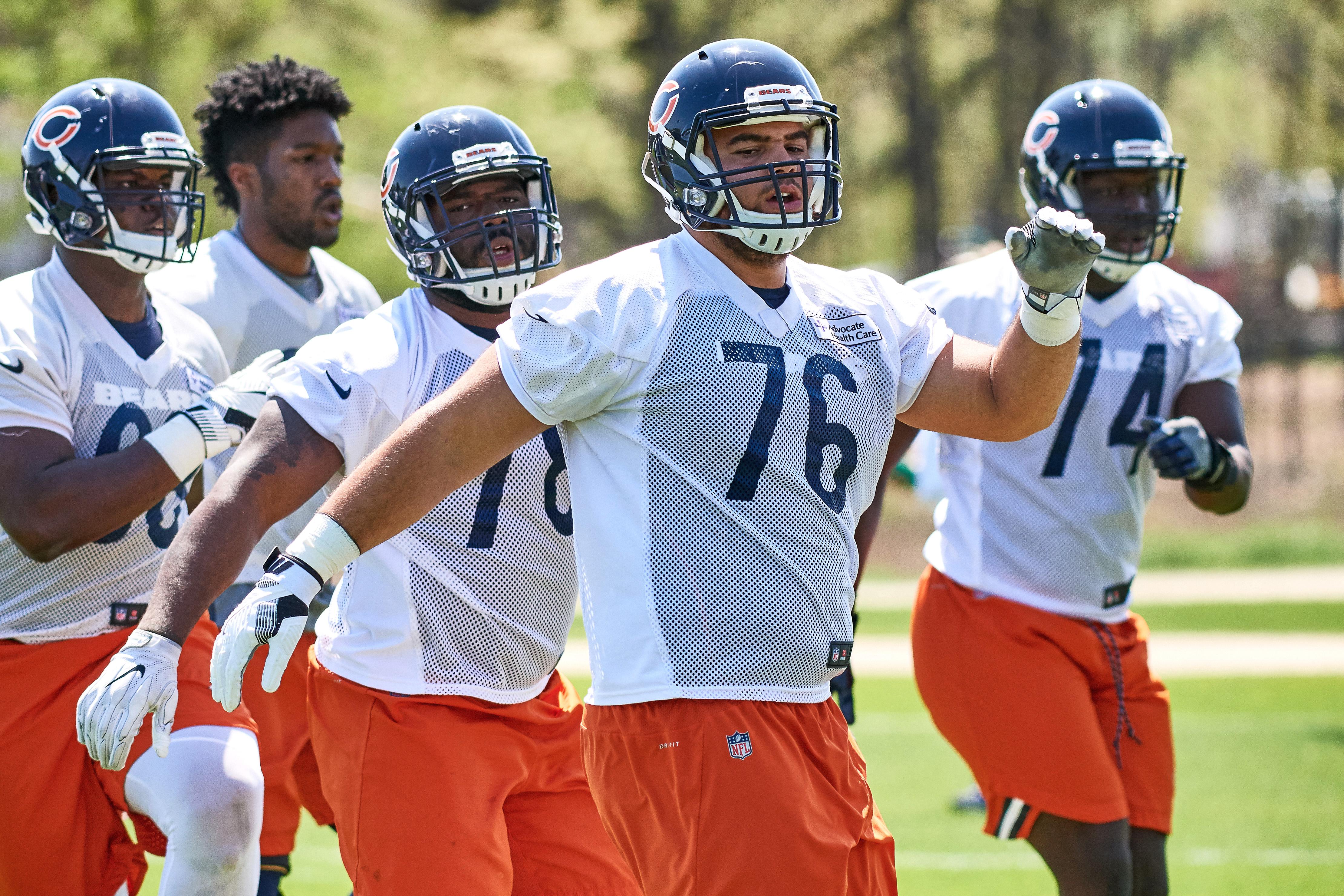 NFL: MAY 16 Bears OTA