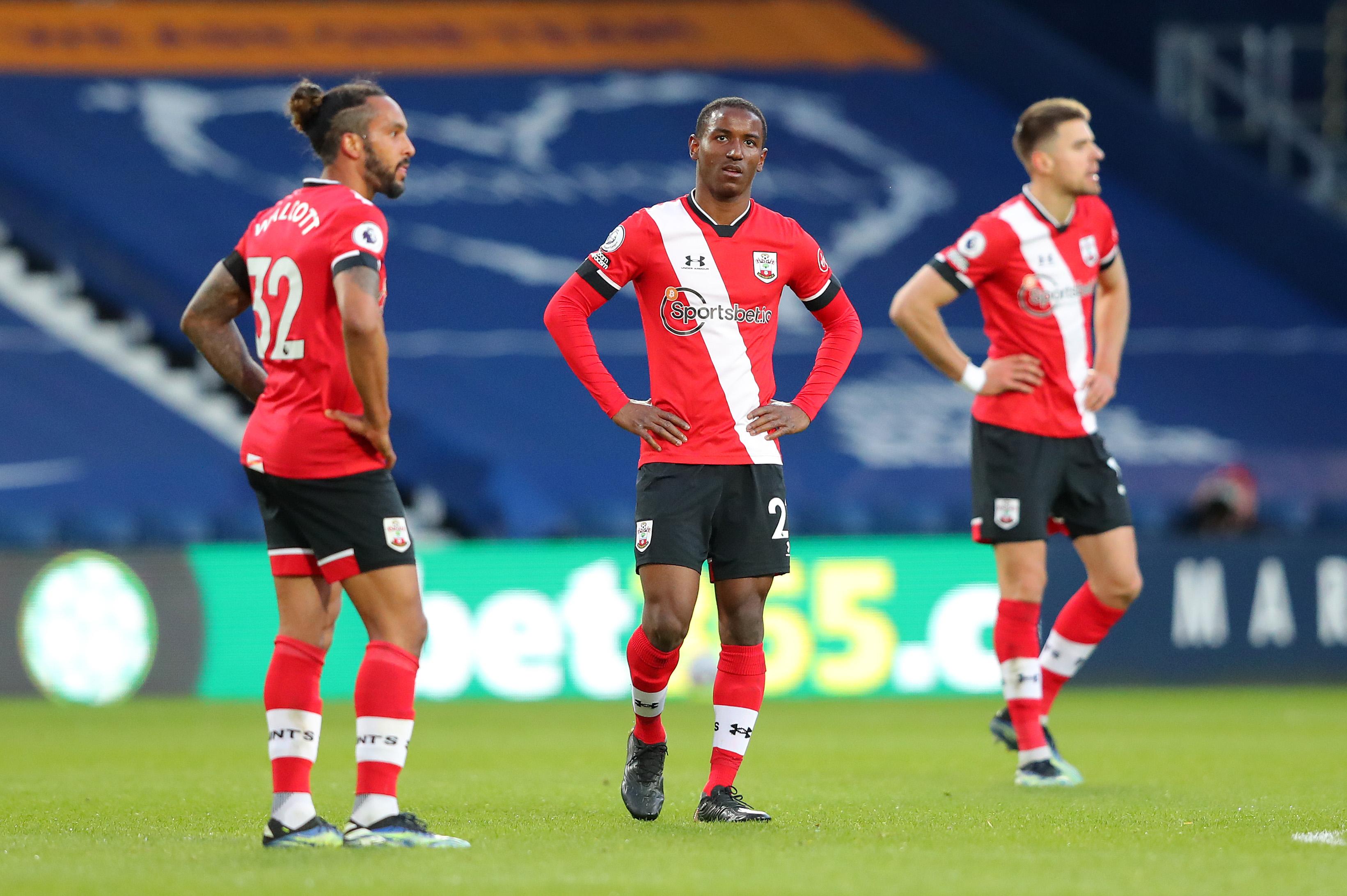 West Bromwich Albion v Southampton - Premier League, relegation battle, match report