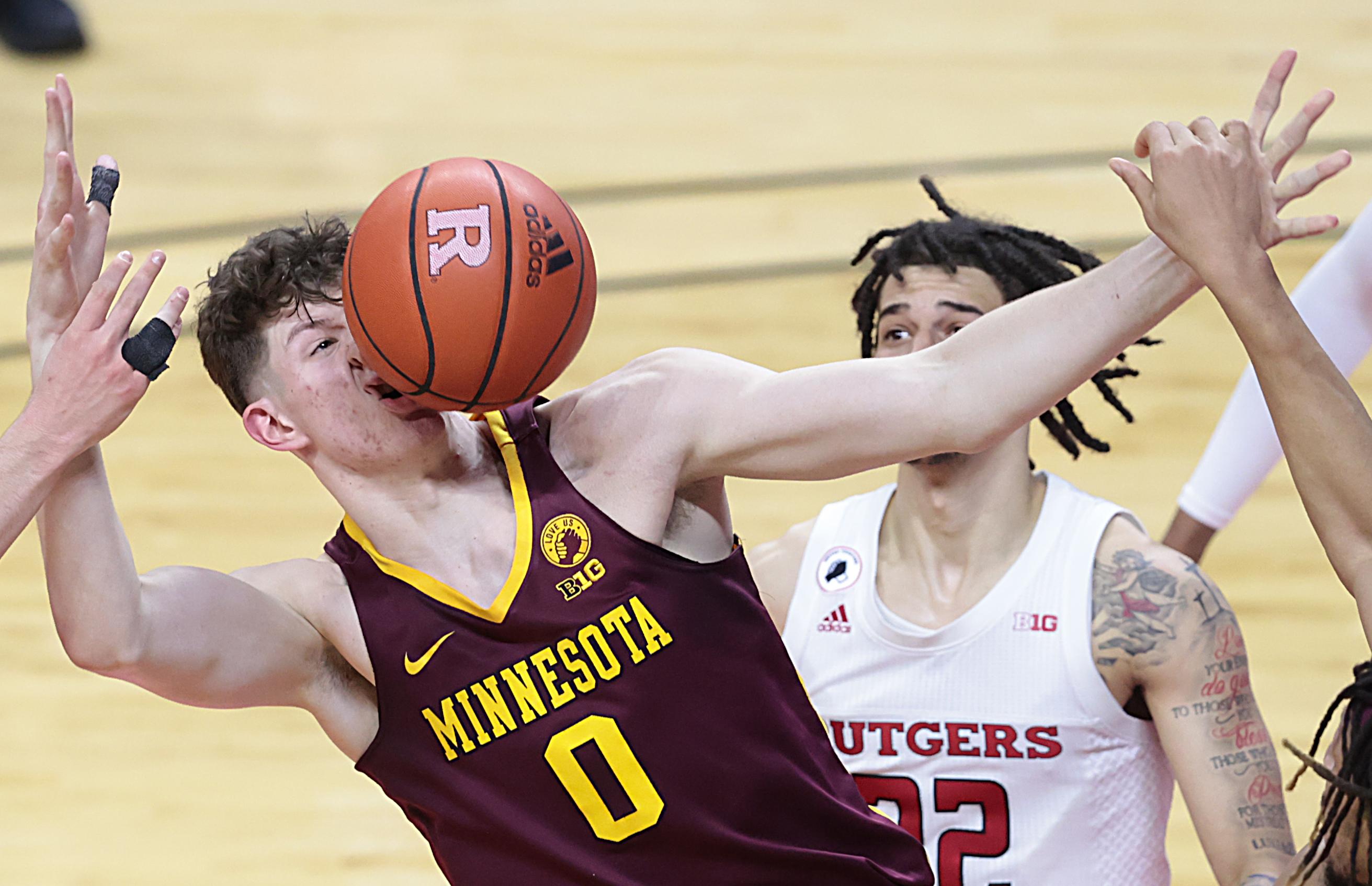 NCAA Basketball: Minnesota at Rutgers