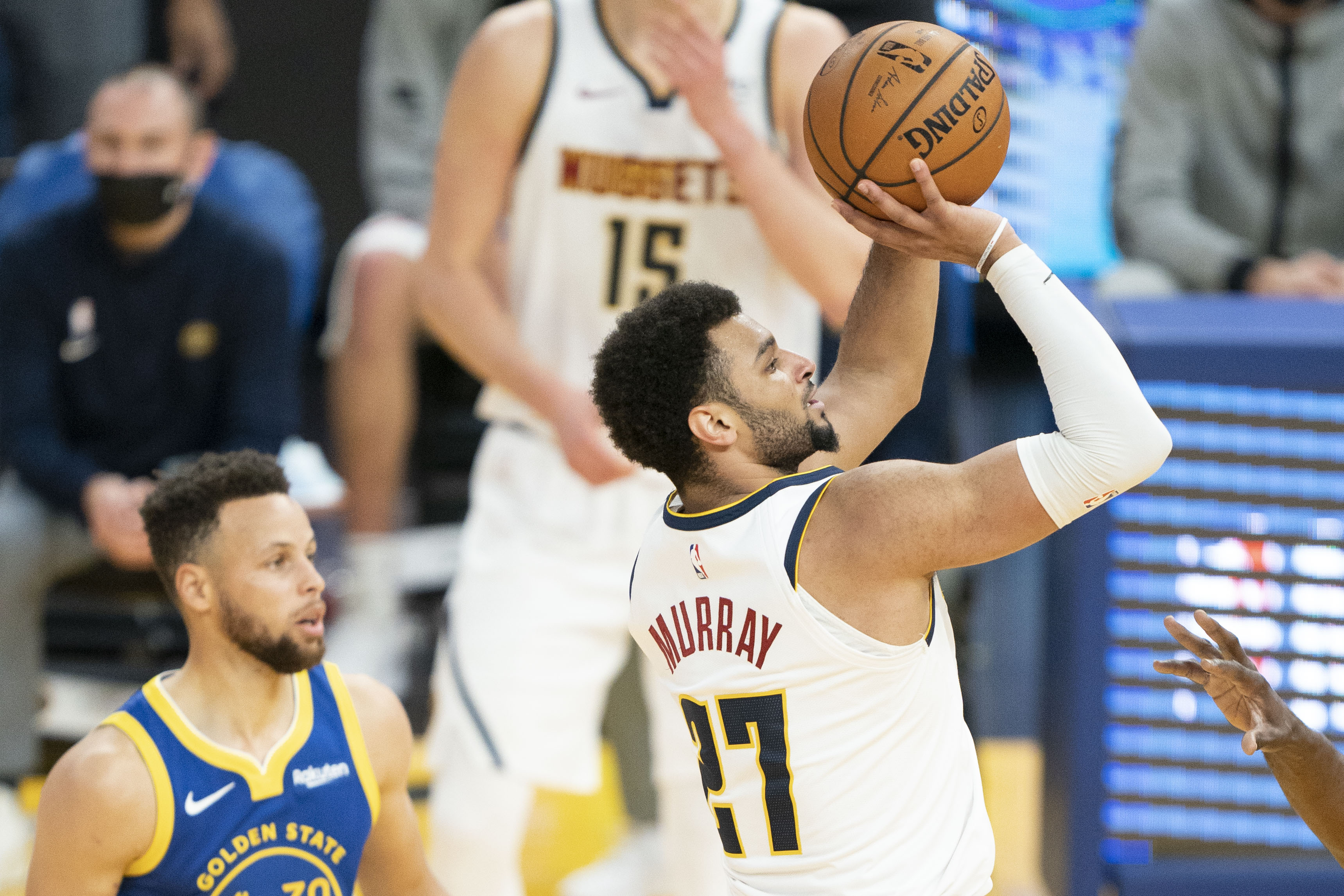 NBA: Denver Nuggets at Golden State Warriors