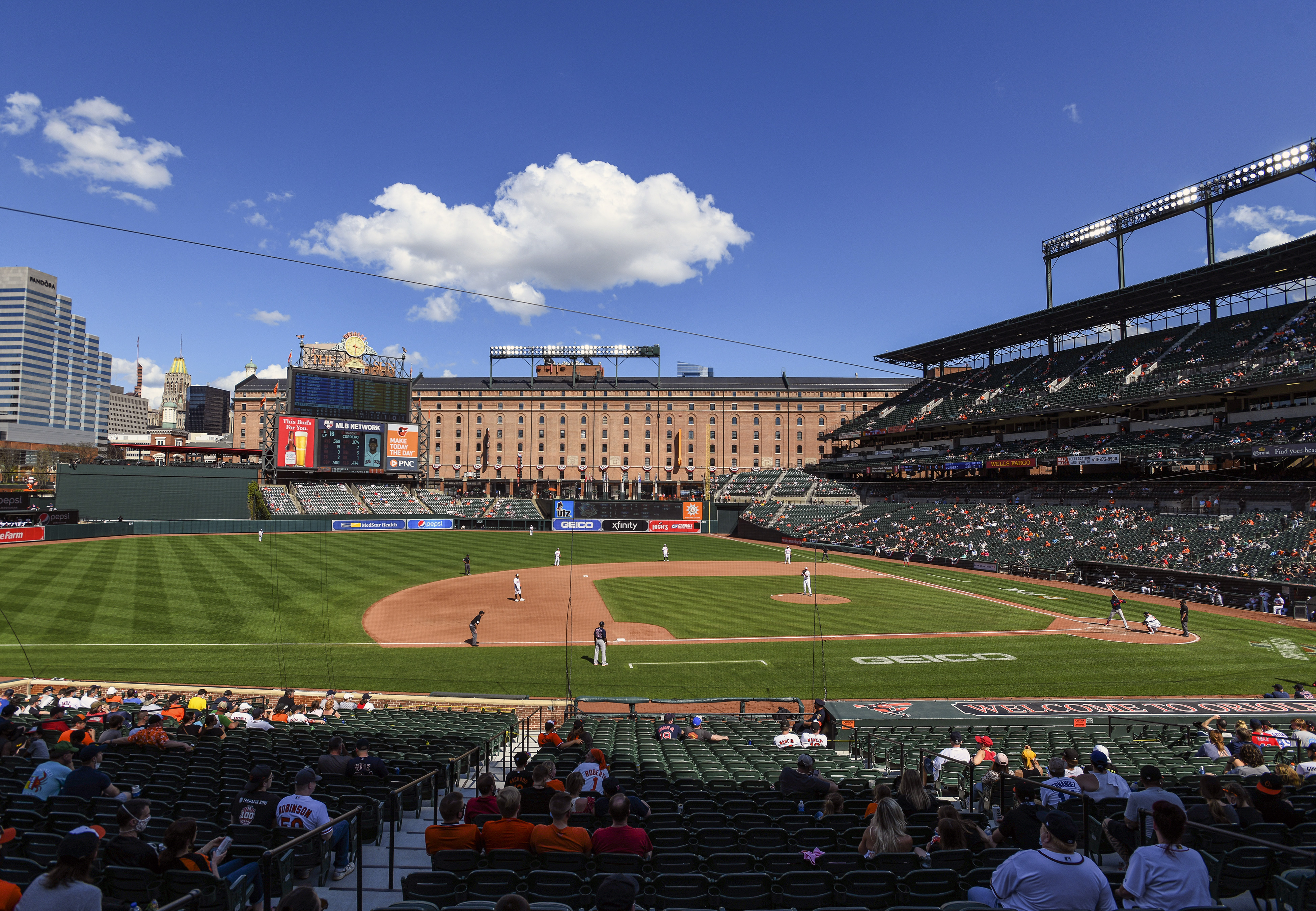 MLB: APR 11 Red Sox at Orioles
