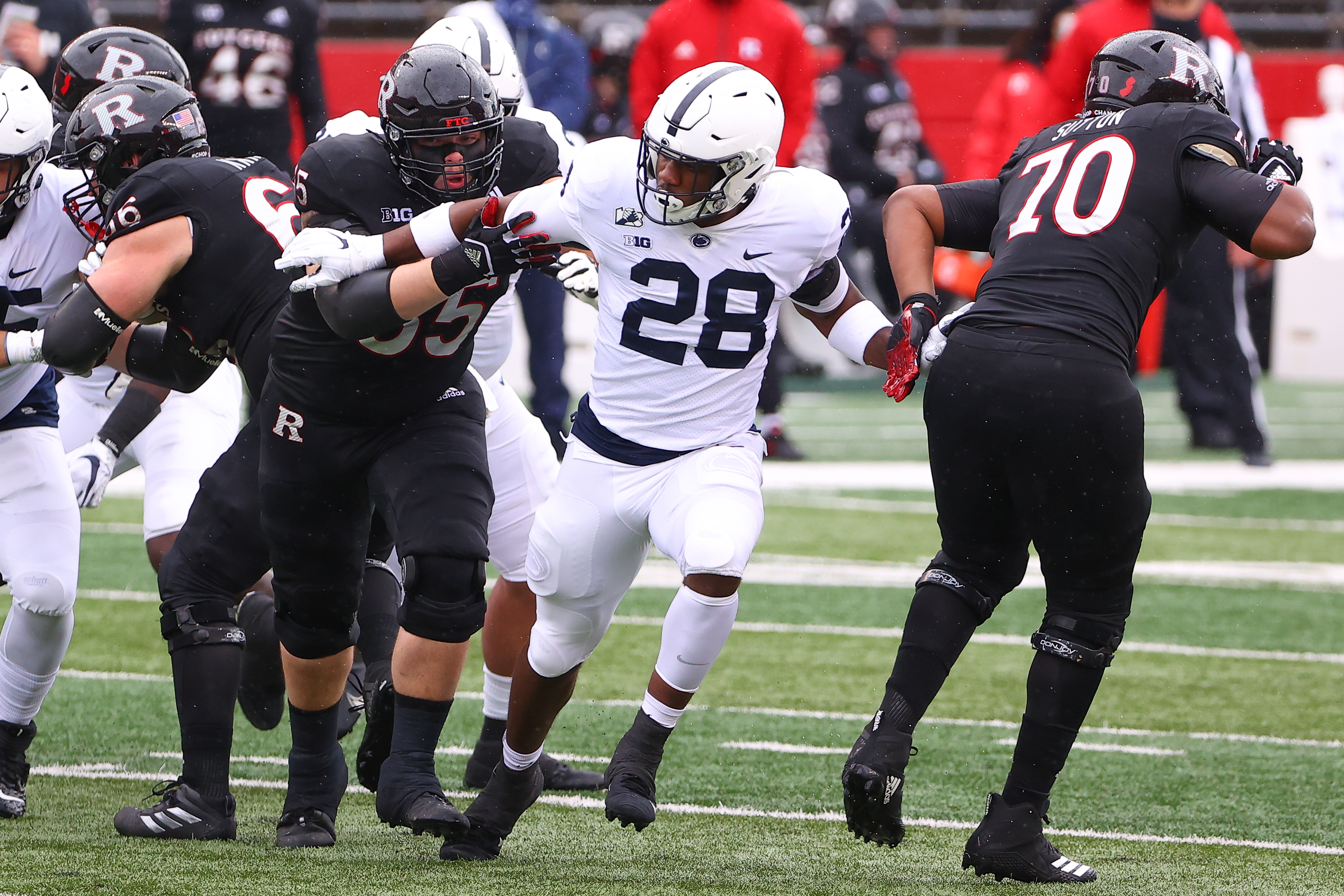 COLLEGE FOOTBALL: DEC 05 Penn State at Rutgers