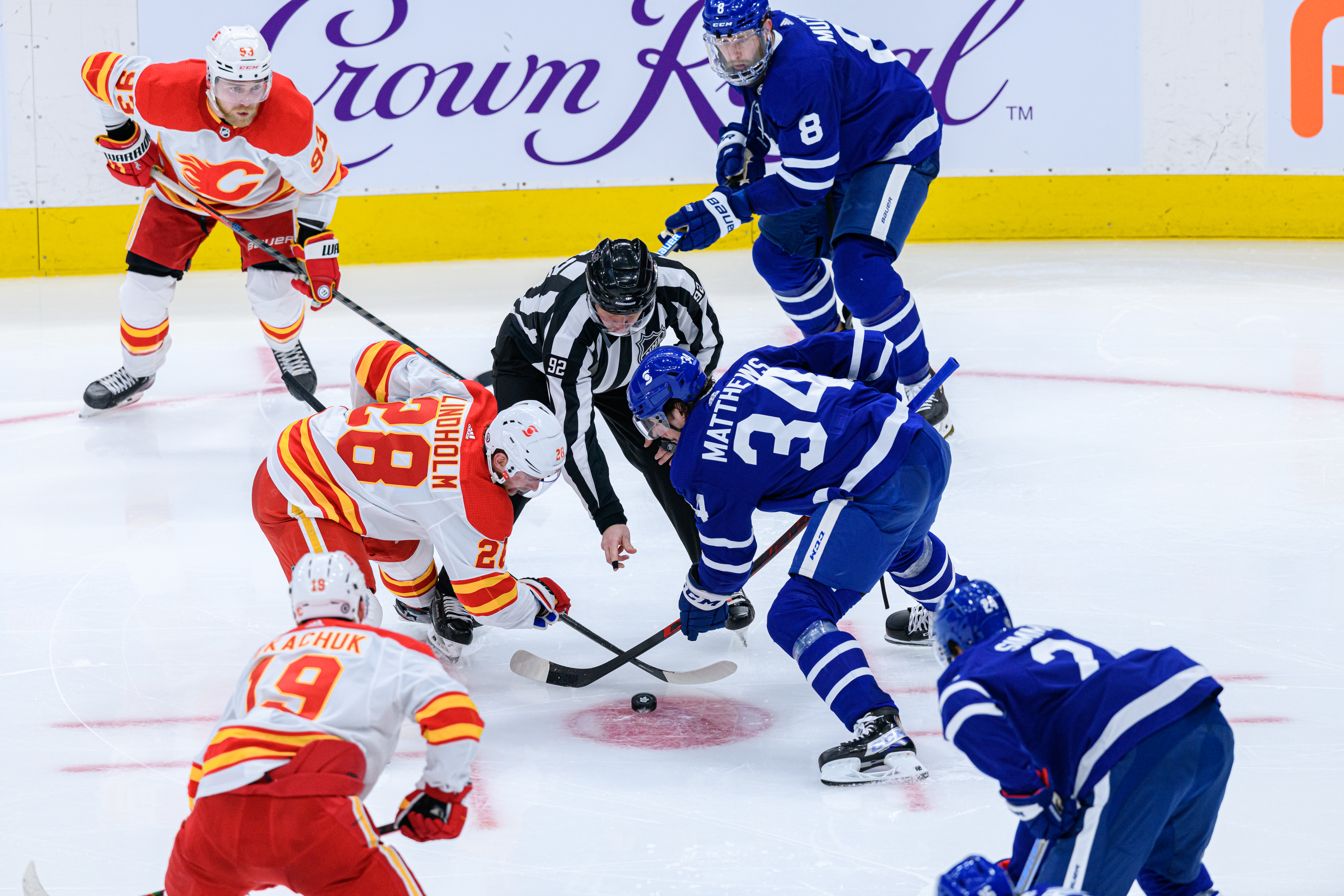 NHL: MAR 20 Flames at Maple Leafs