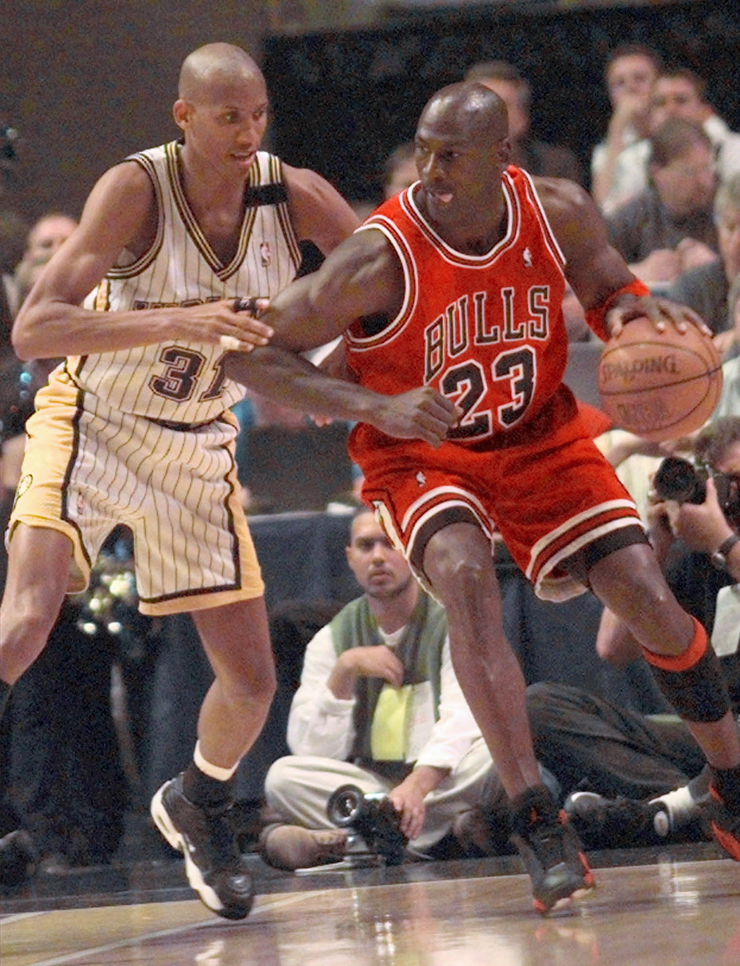Reggie Miller said he had no desire to team up with Michael Jordan on the Bulls.
