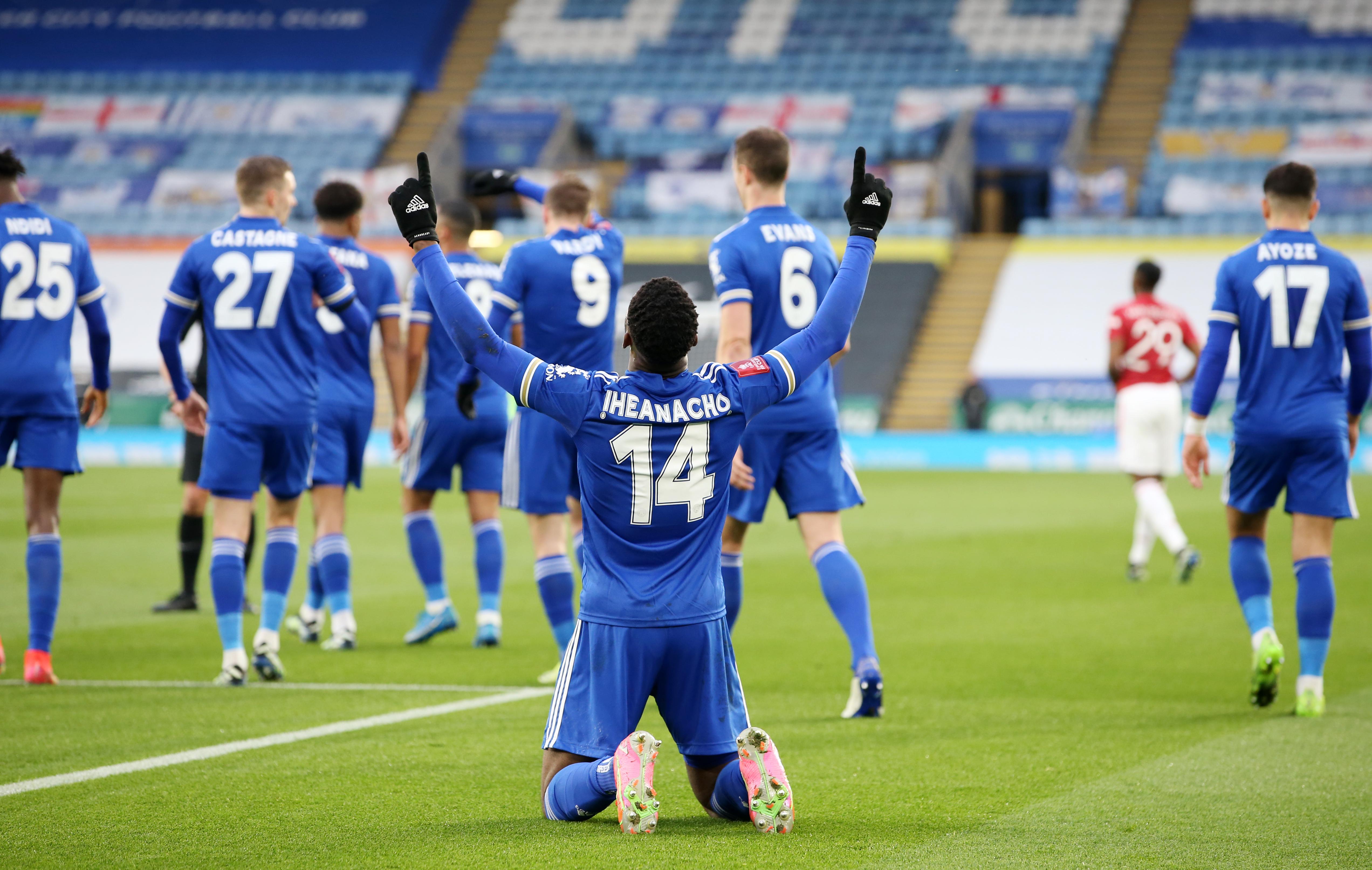 Kelechi Iheanacho - Leicester City - Premier League