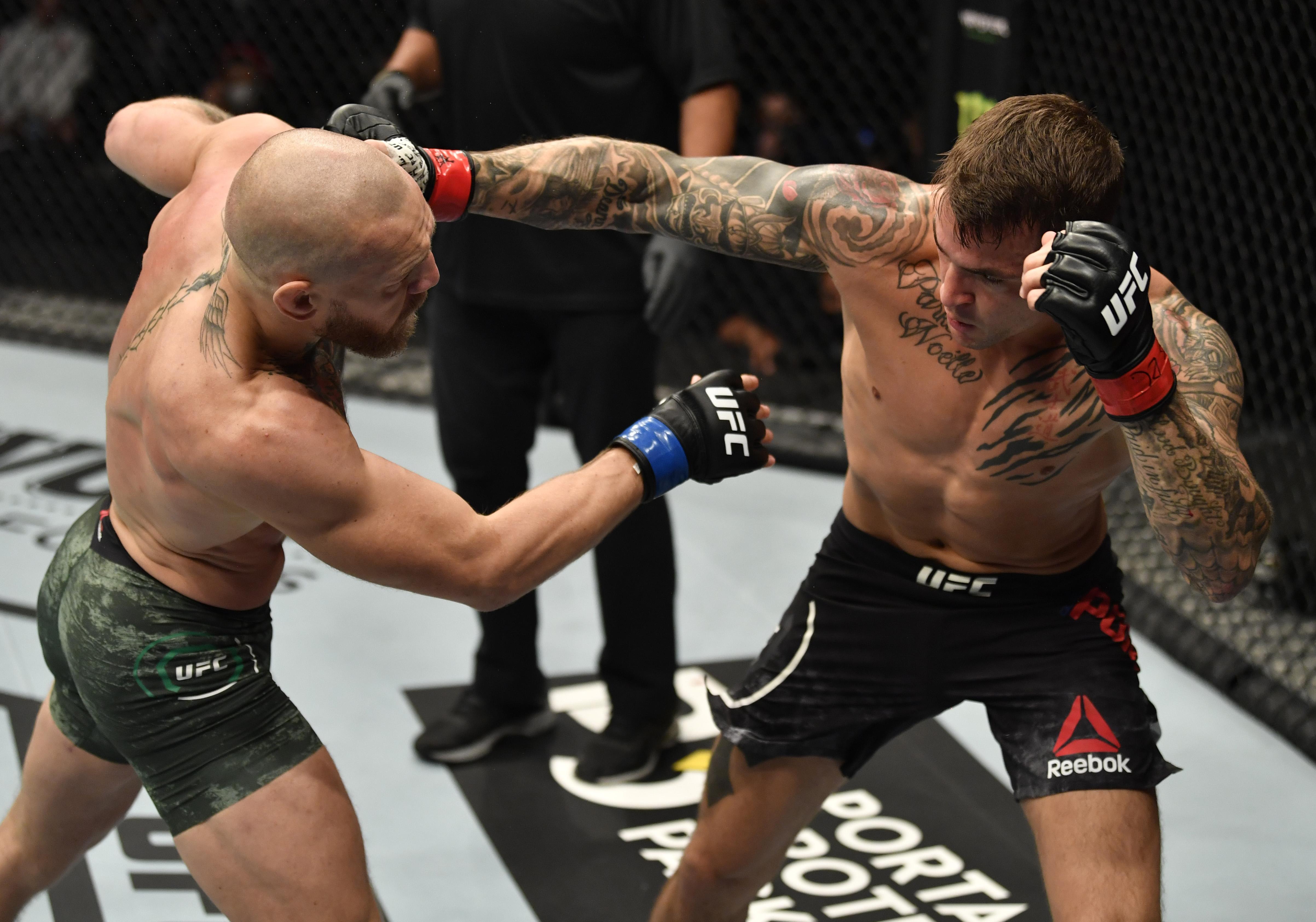 UFC 257:Poirier V McGregor
