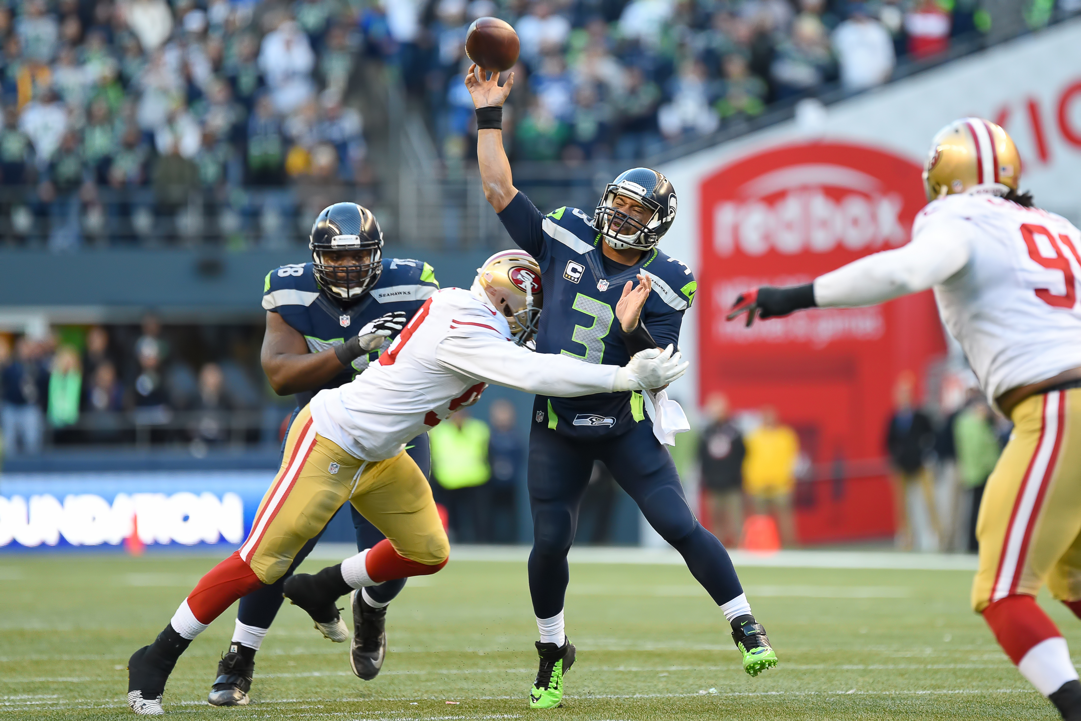 NFL: DEC 14 49ers at Seahawks
