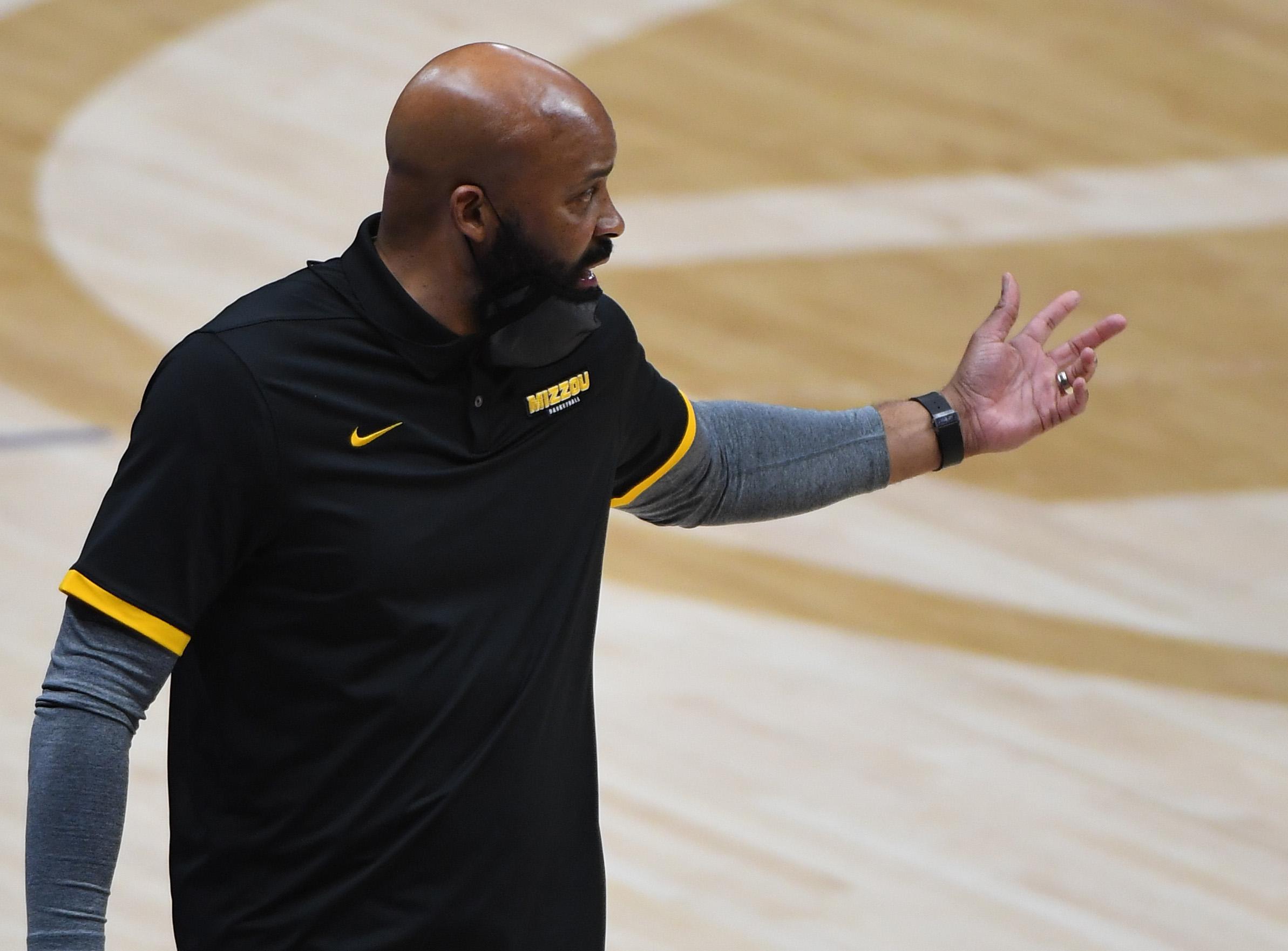 NCAA Basketball: SEC Conference Tournament-Missouri vs Arkansas