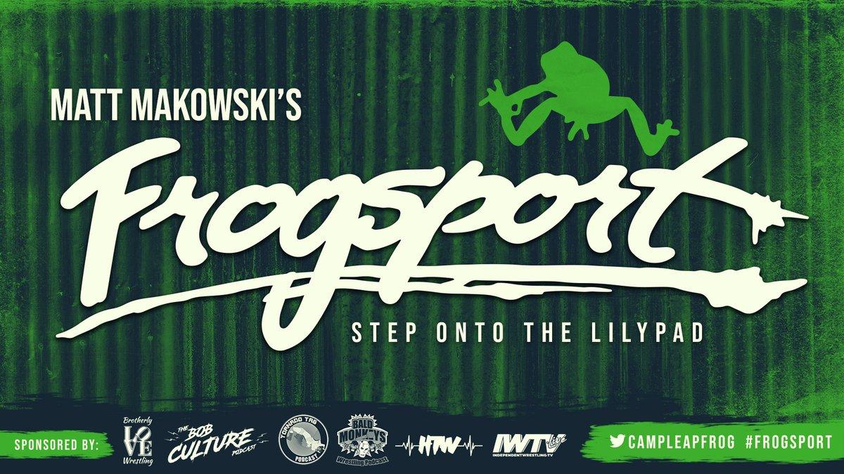 Poster for Matt Makowski's FROGSPORT