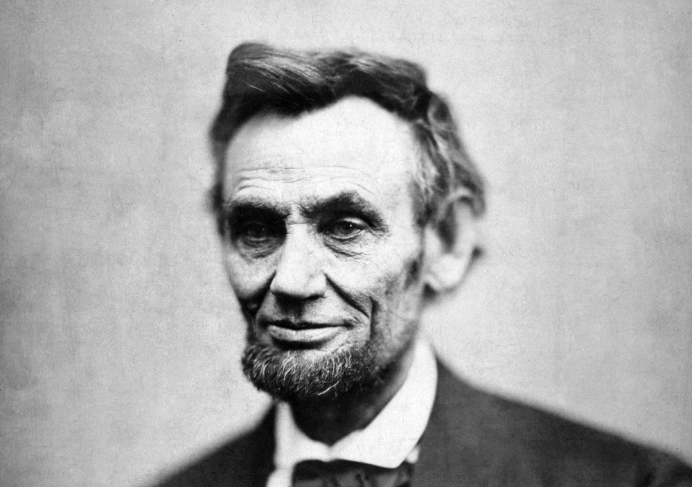 Portrait of Abraham Lincoln, 16th president of the United States