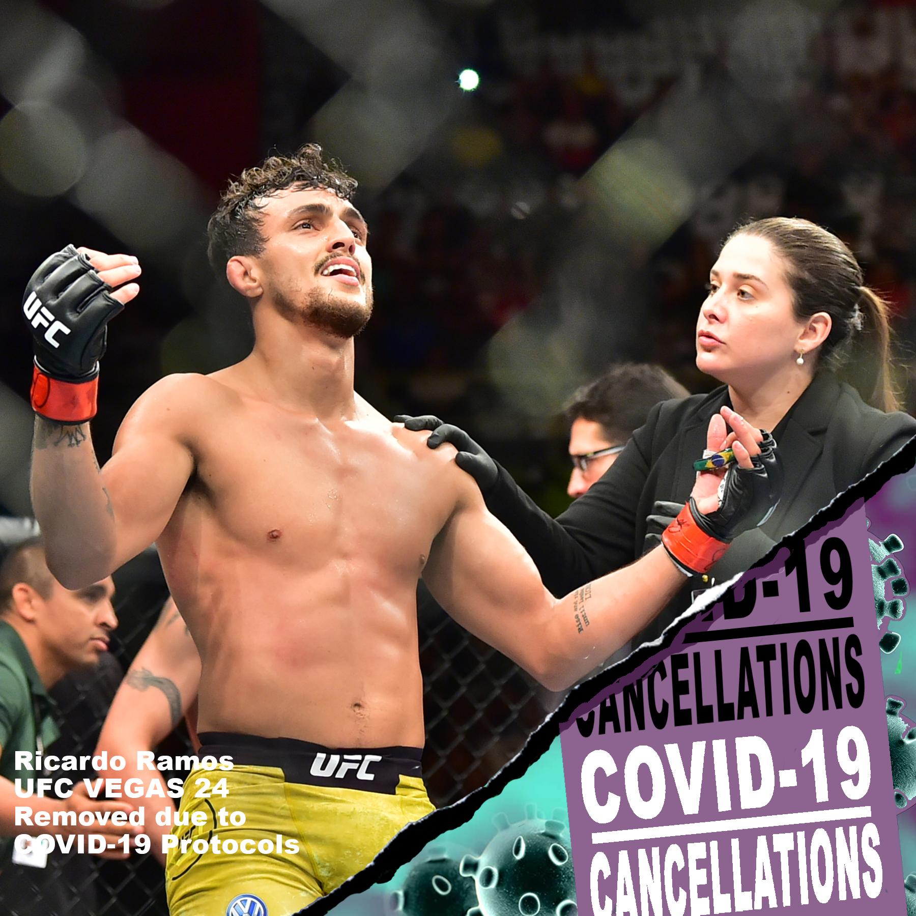 Ricardo Ramos, UFC Vegas 24, COVID-19, Pandemic, Coronavirus, UFC and Covid, COVID-19 Protocols, Ricardo Ramos vs Bill Algeo,
