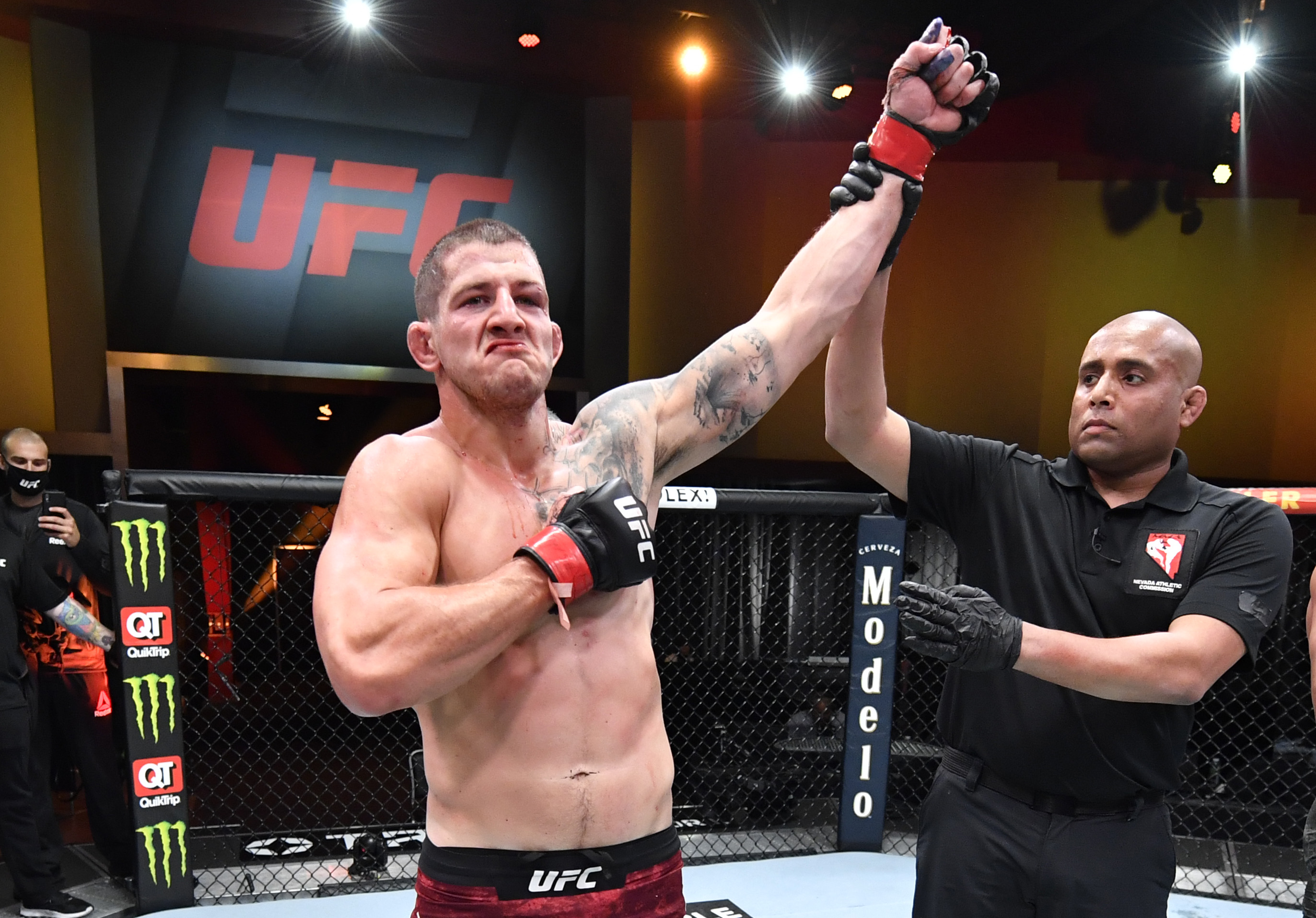 UFC 260: Barriault v Azaitar