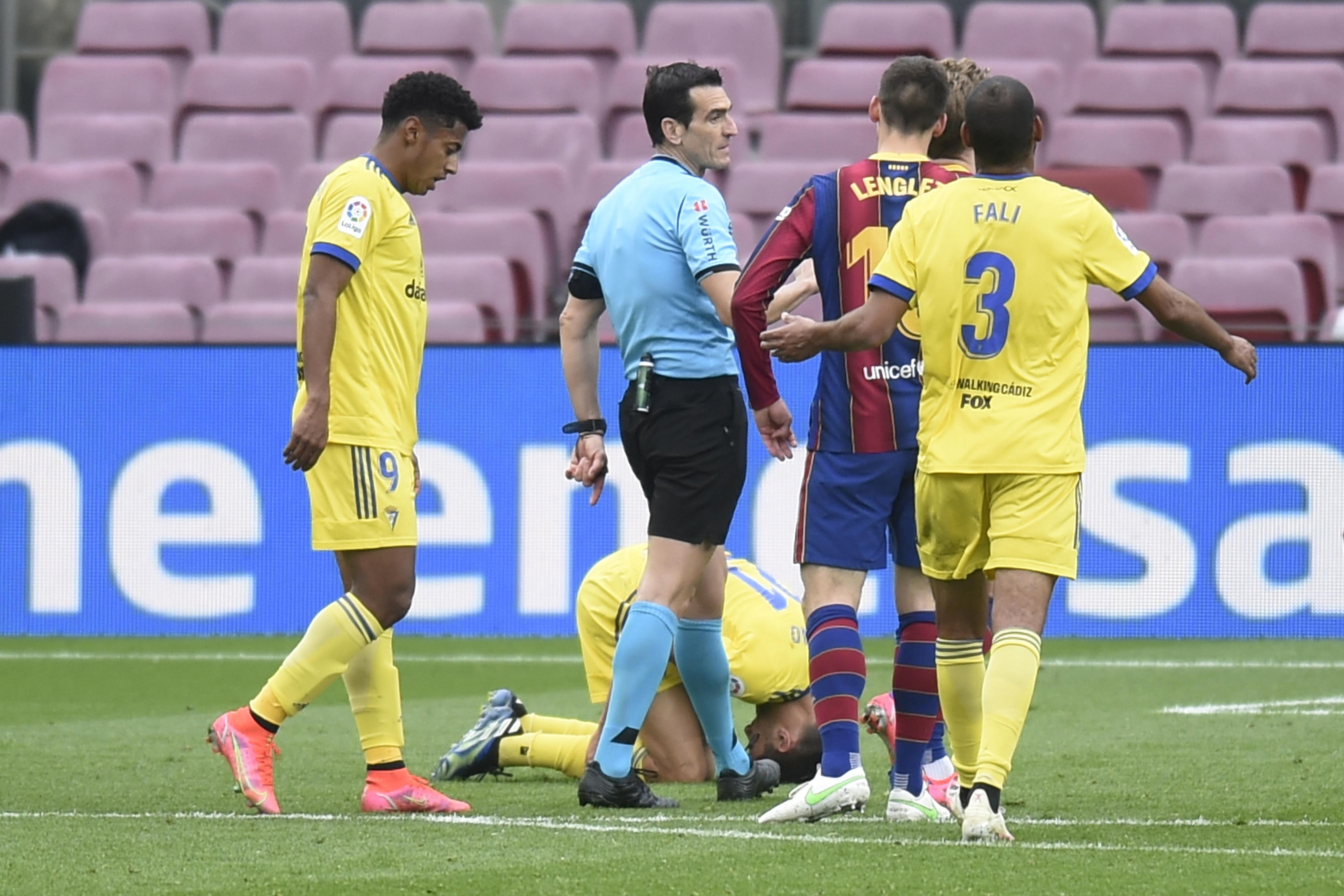 ESP: FC Barcelona-Cadiz CF. La Liga Santander.