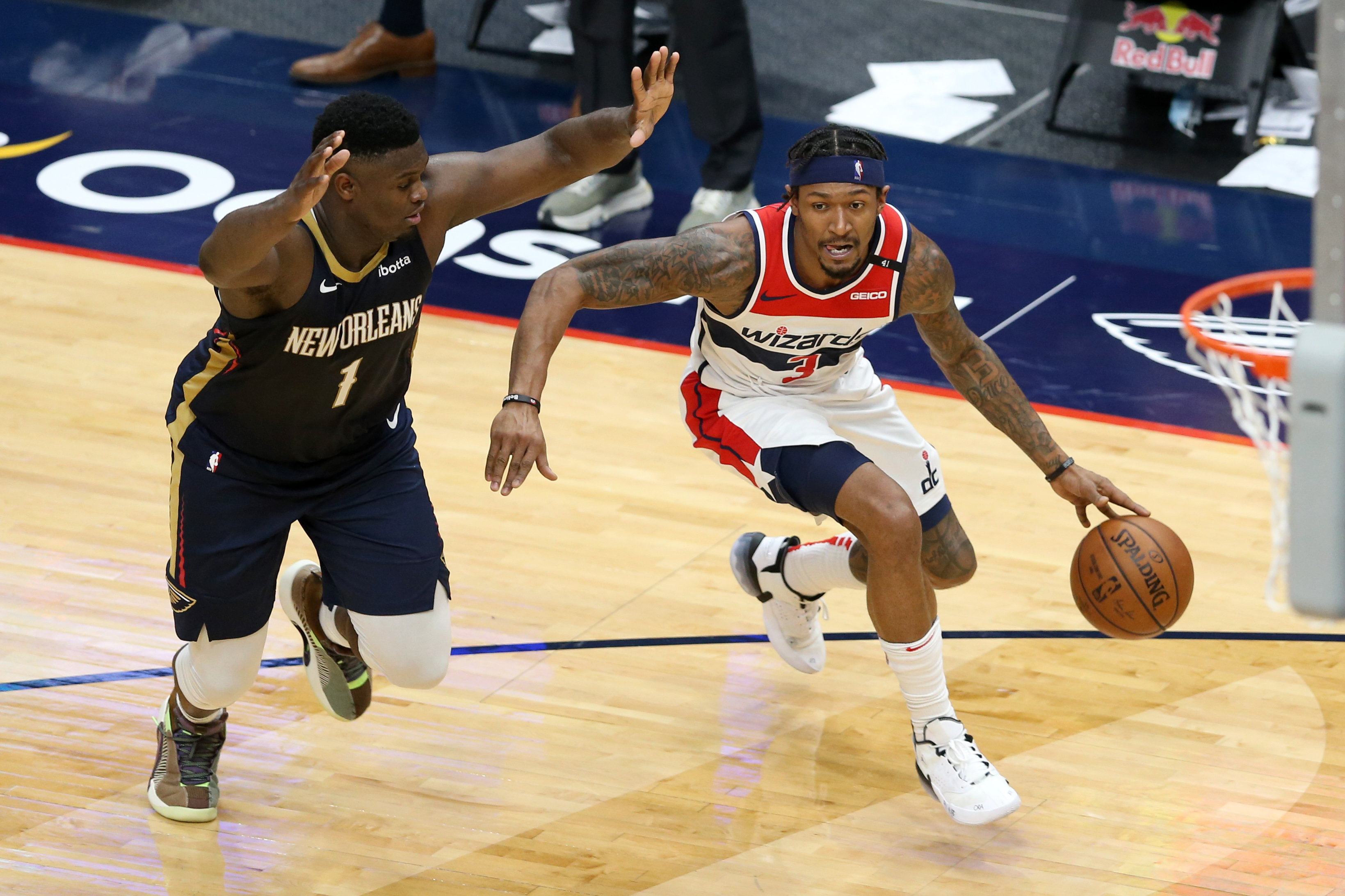 NBA: Washington Wizards at New Orleans Pelicans
