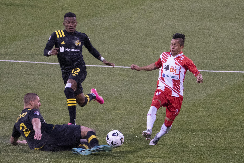 SOCCER: APR 15 CONCACAF Champions League - Real Esteli at Columbus Crew SC