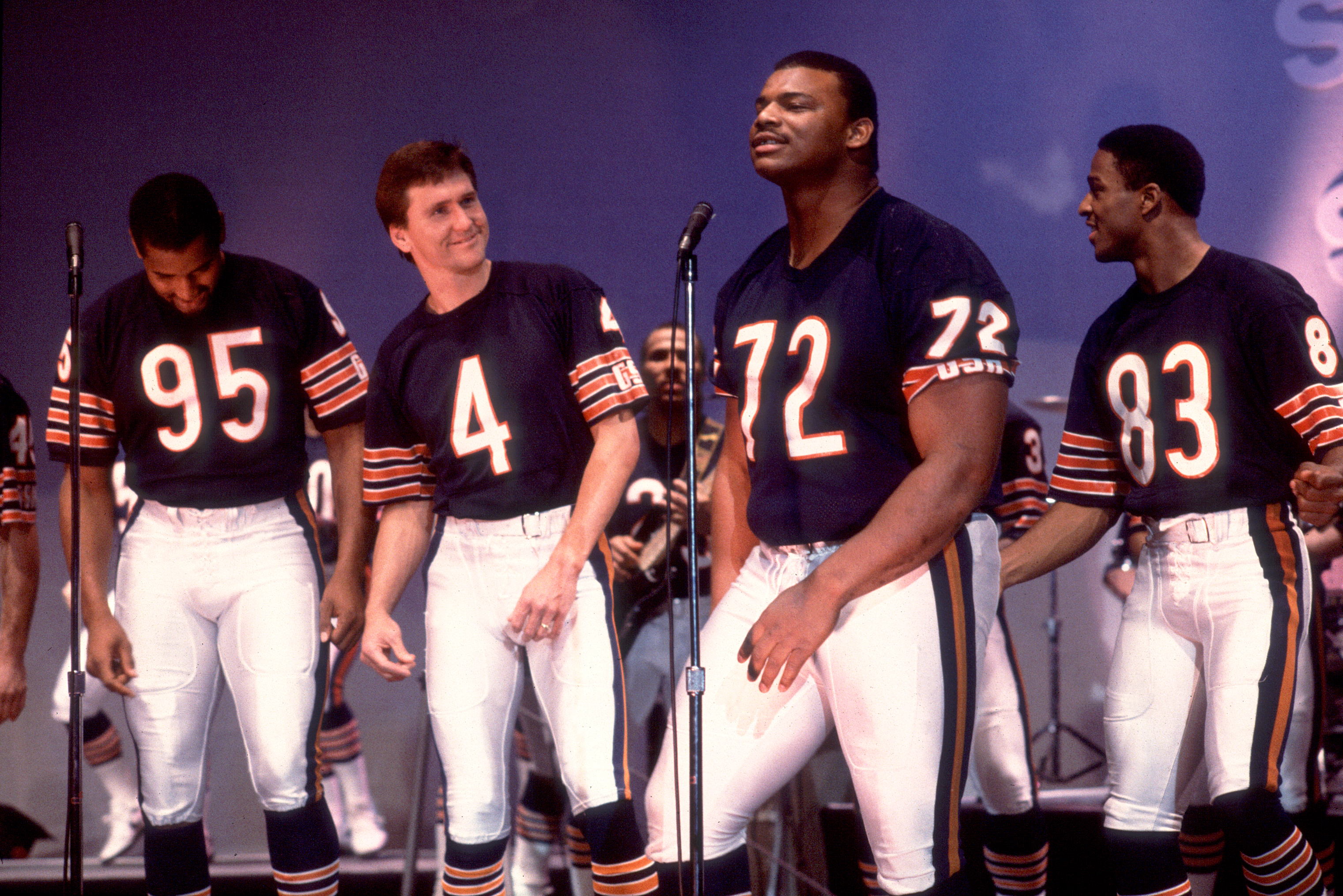 Recording 'The Super Bowl Shuffle'