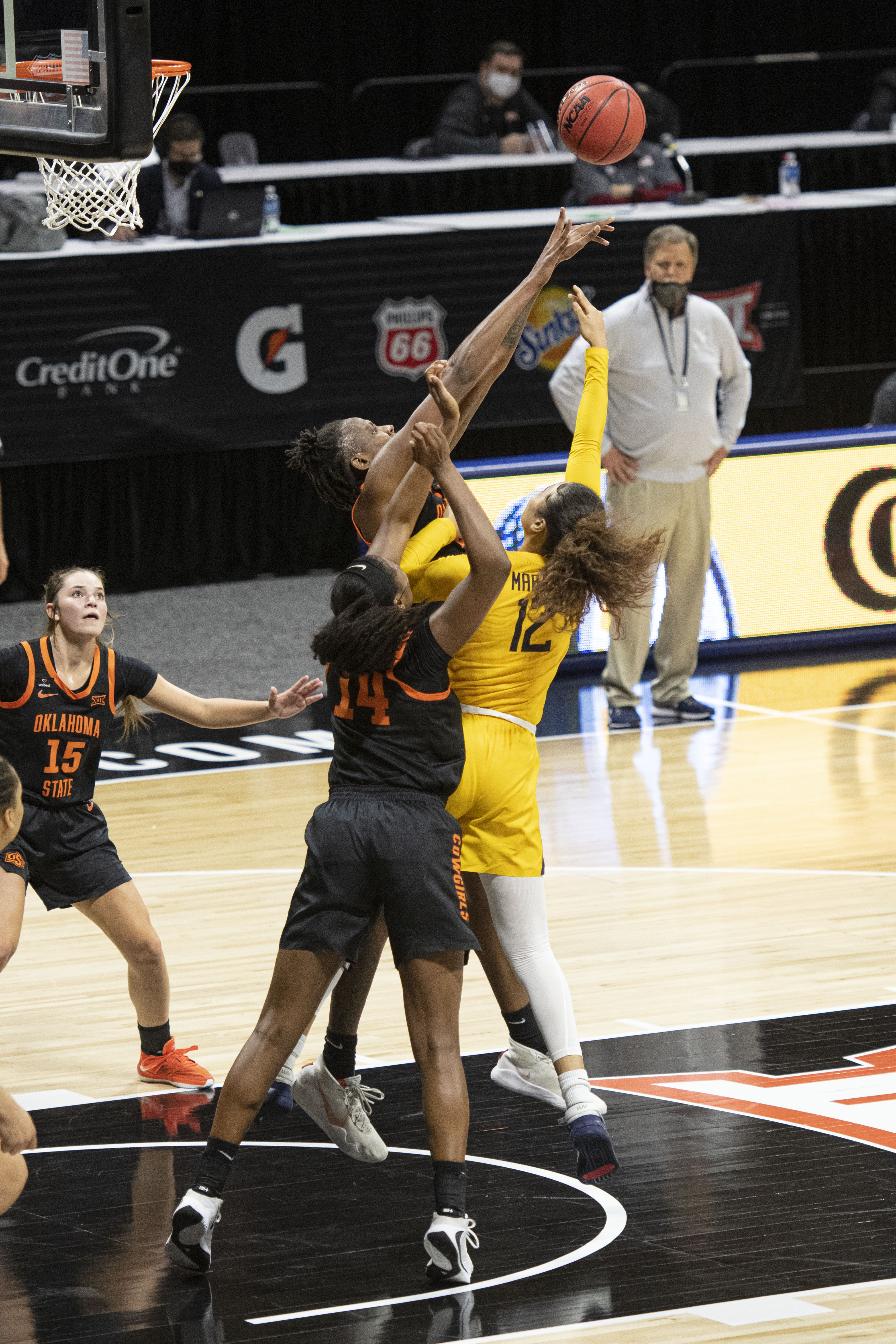 NCAA Womens Basketball: Big 12 Conference Tournament-West Virginia vs Oklahoma State