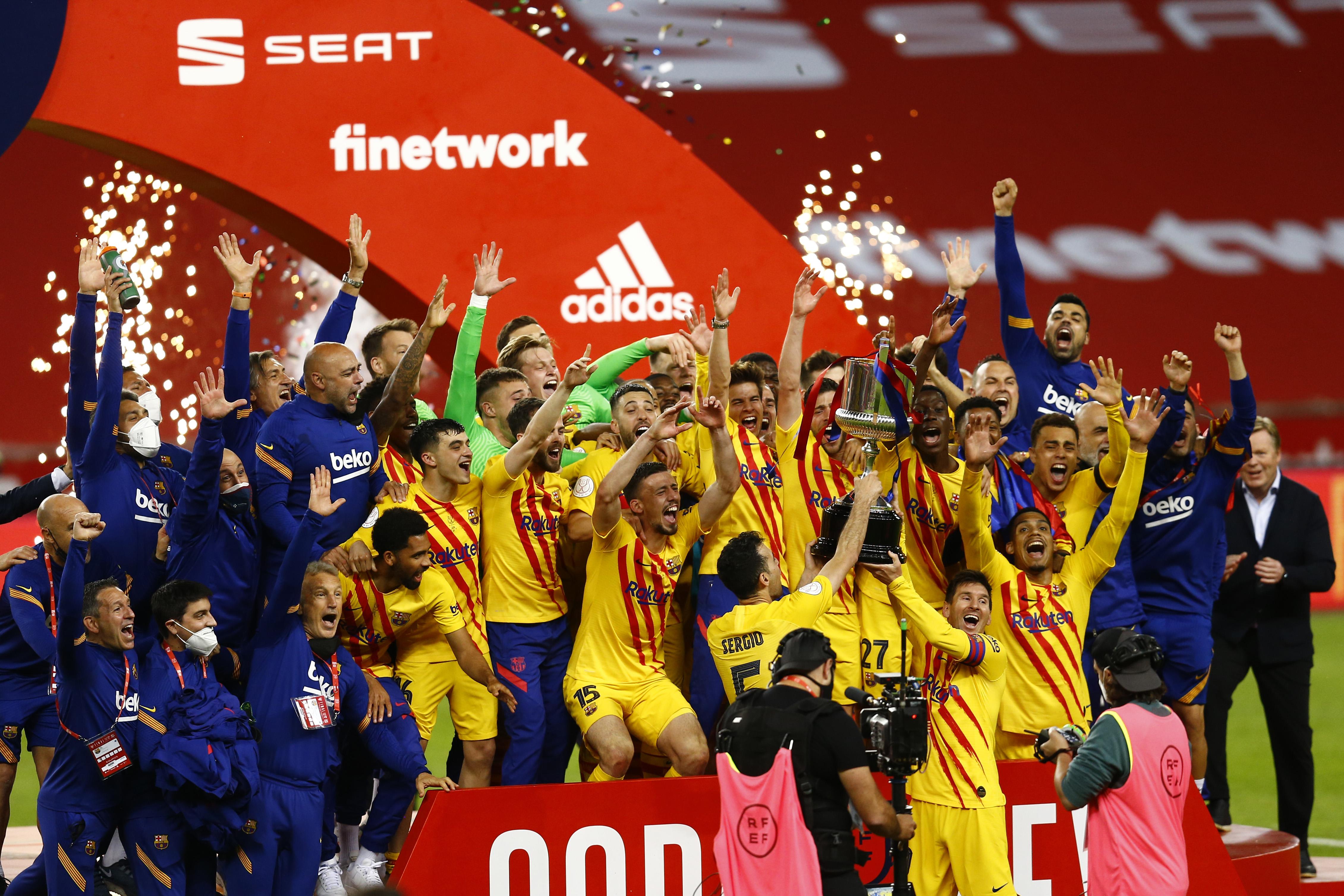 ESP: Athletic Club - FC Barcelona. Copa del Rey 2020-2021, Final.