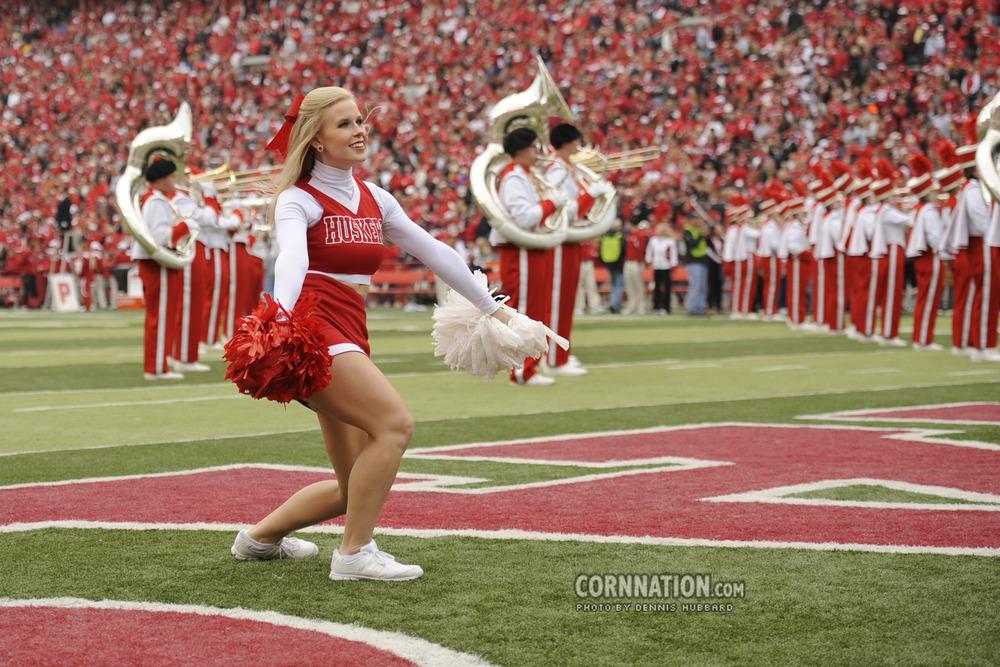 Husker Cheerleader - Lauren Martin