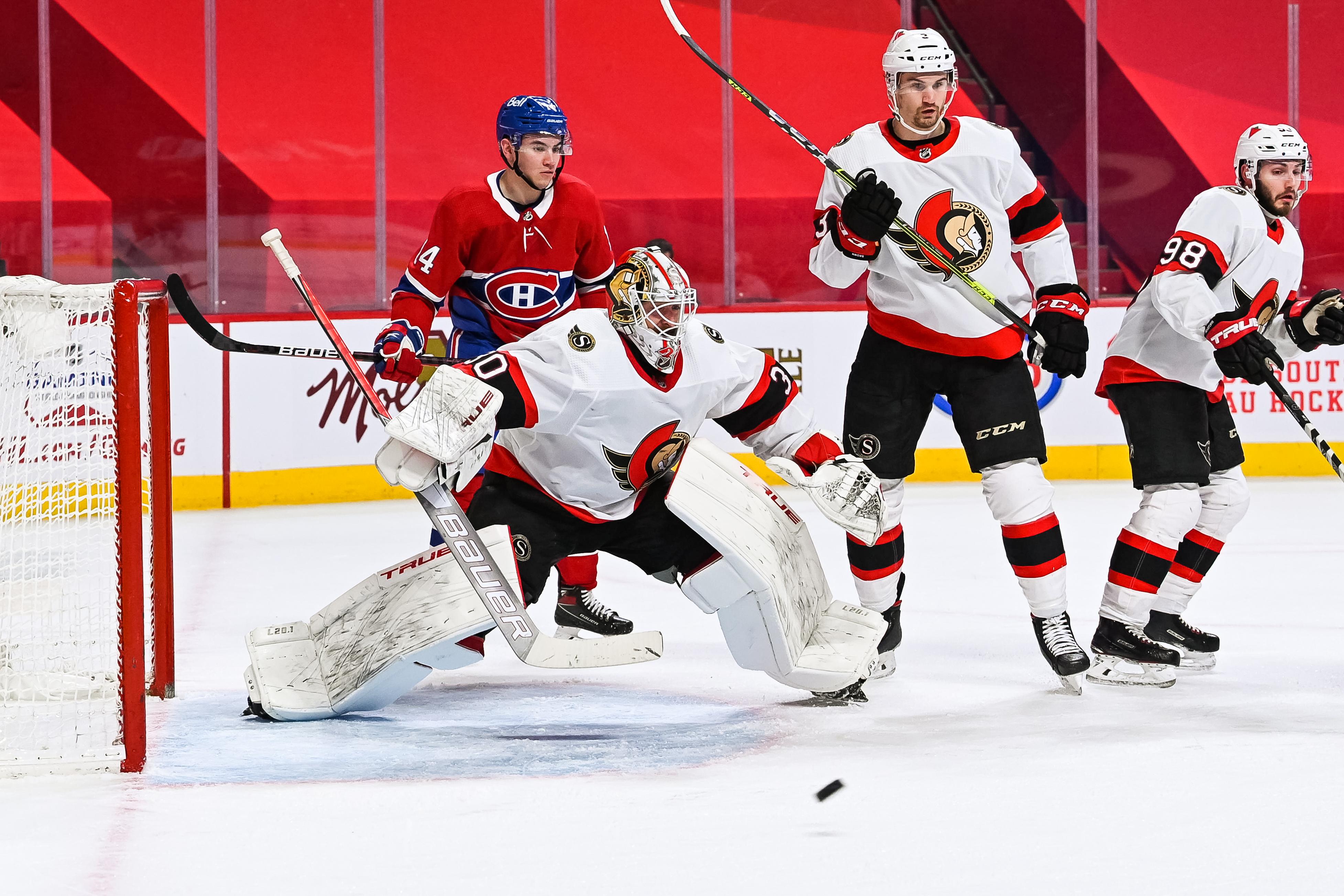 NHL: APR 17 Senators at Canadiens