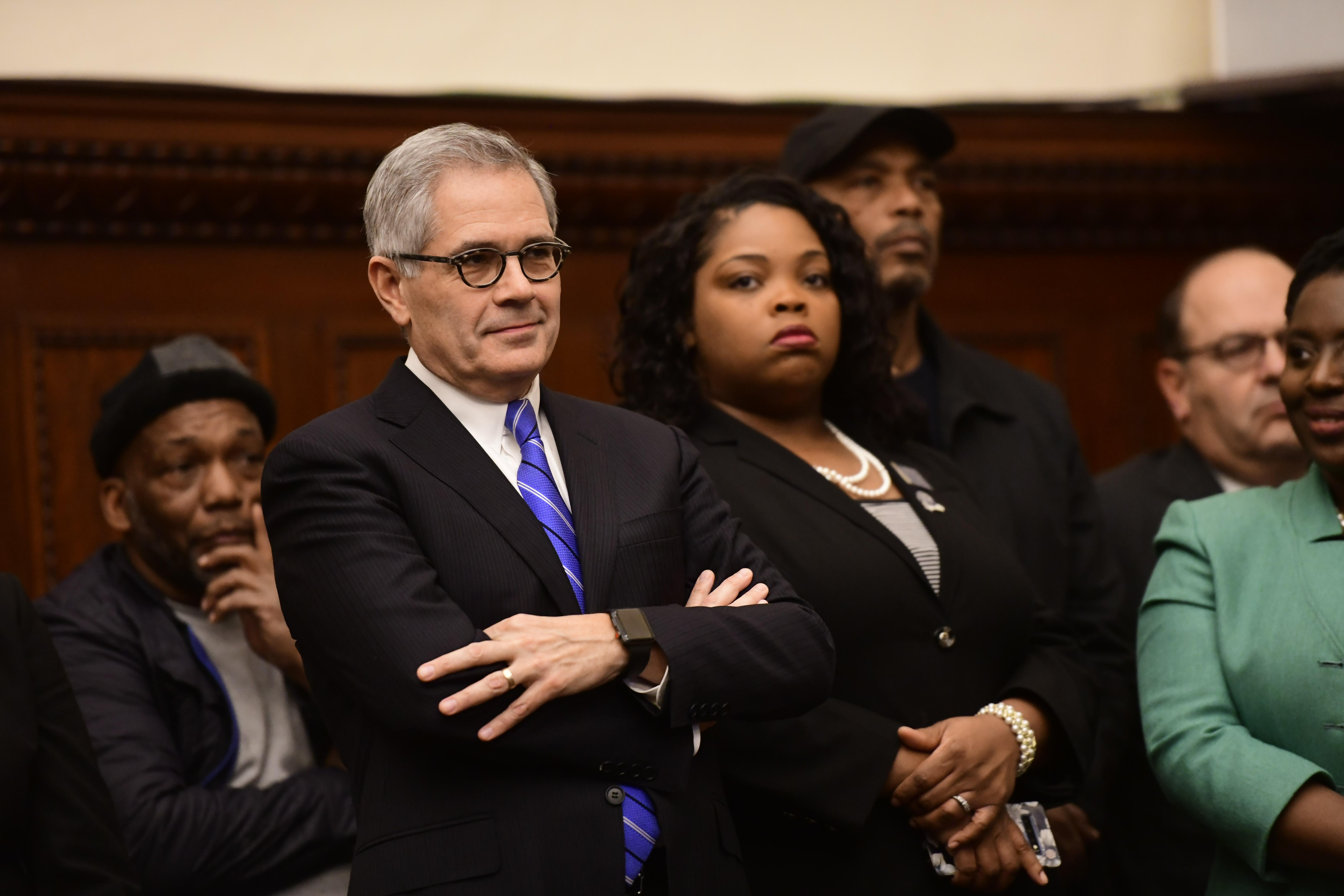 费城市长肯尼任命丹妮尔为新任警察局长