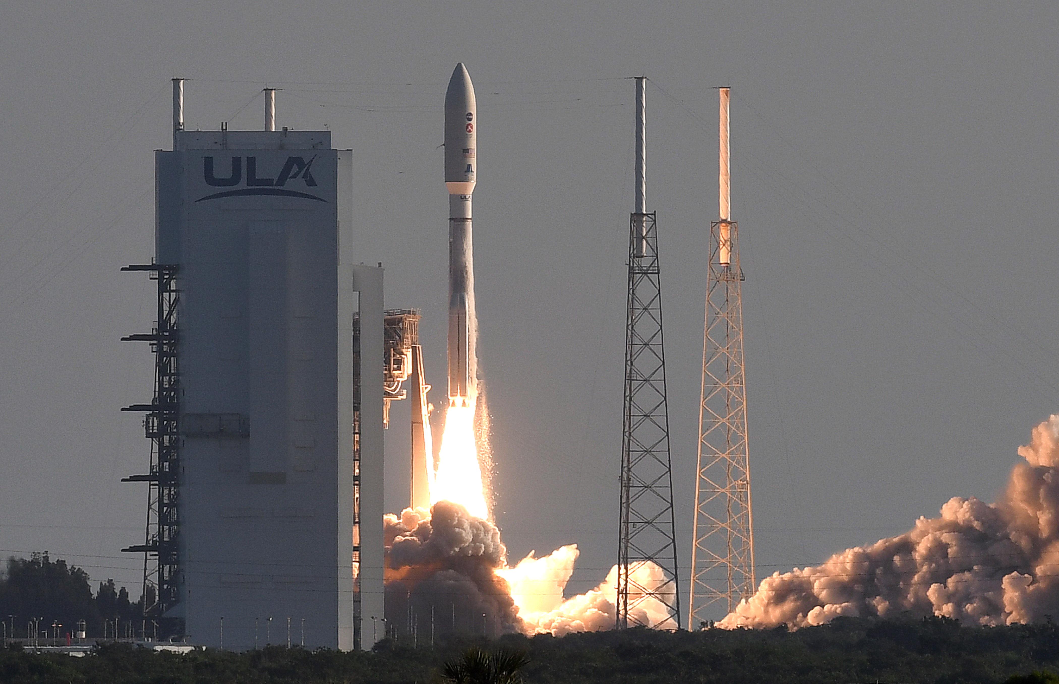 An Atlas V rocket with NASA's Perseverance Mars rover...