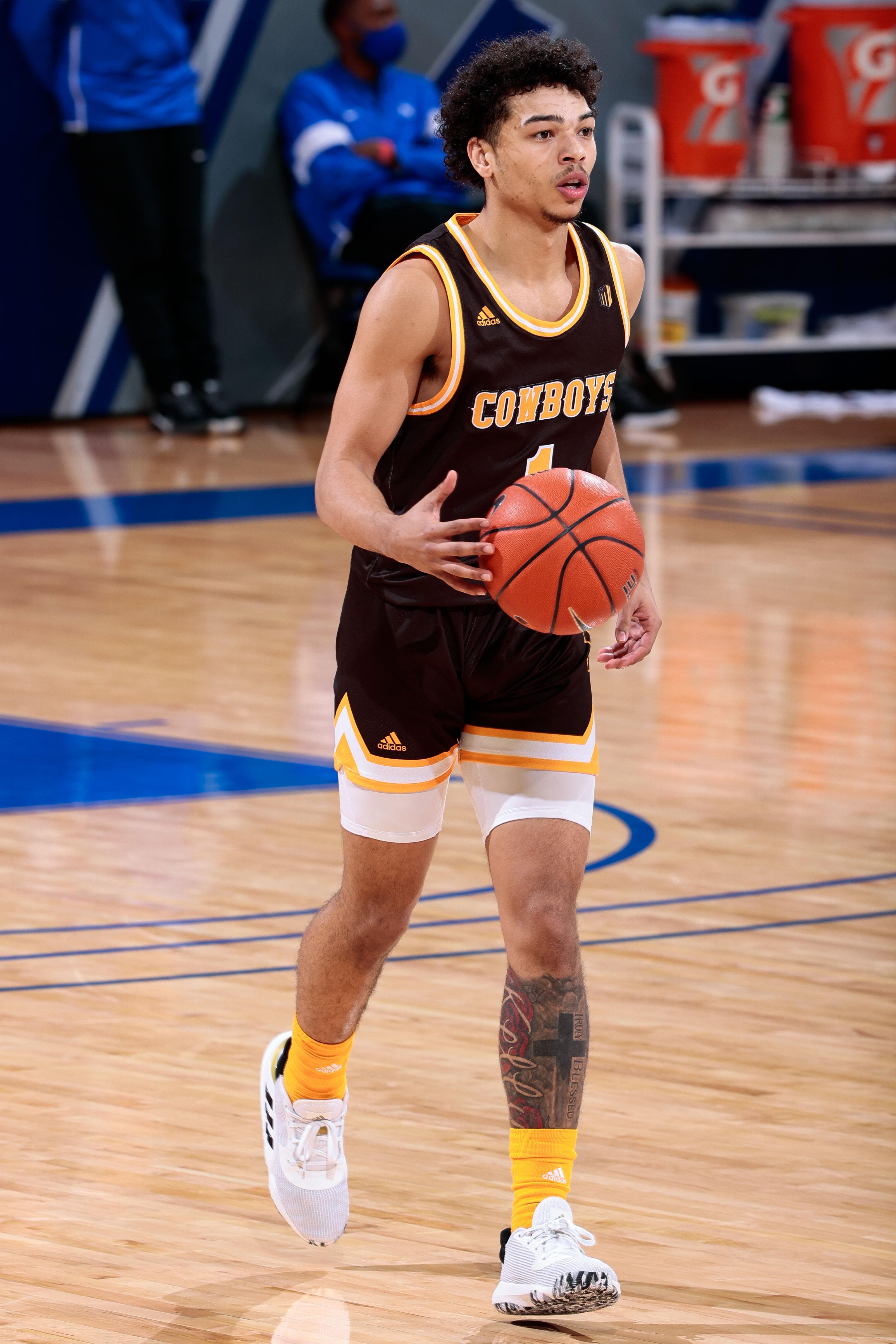 NCAA Basketball: Wyoming at Air Force