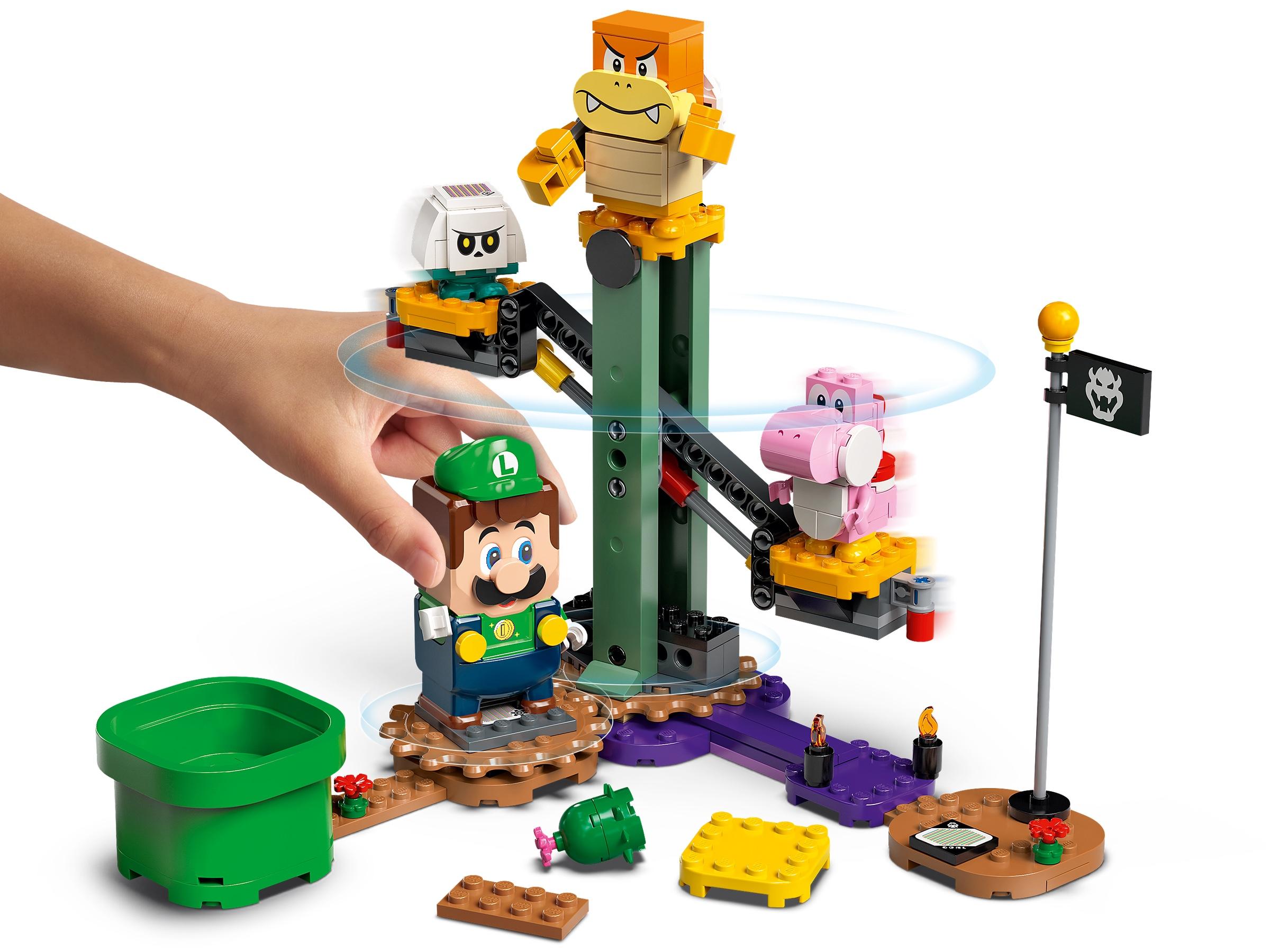 Lego Super Mario Adventures with Luigi Starter Course playset