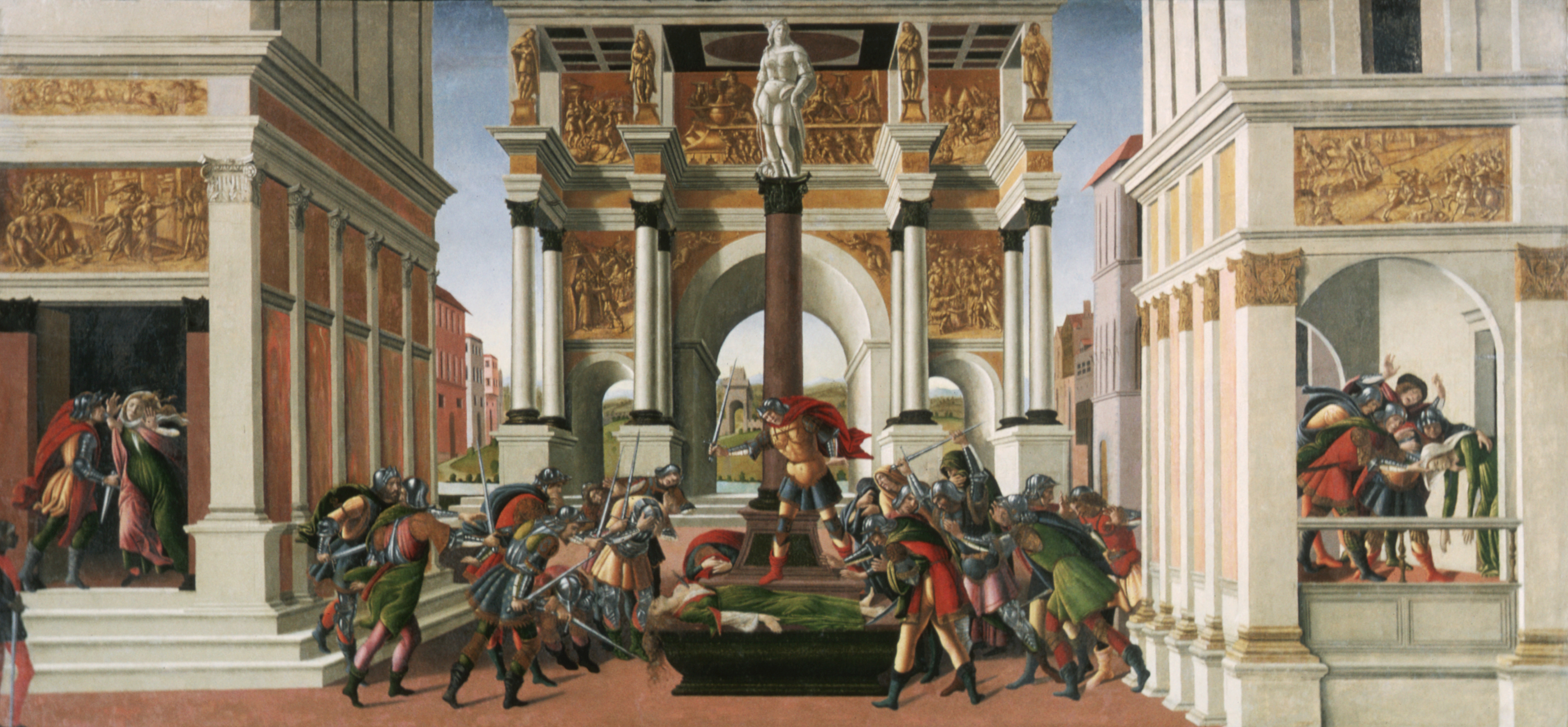 The Tragedy of Lucretia by Botticelli