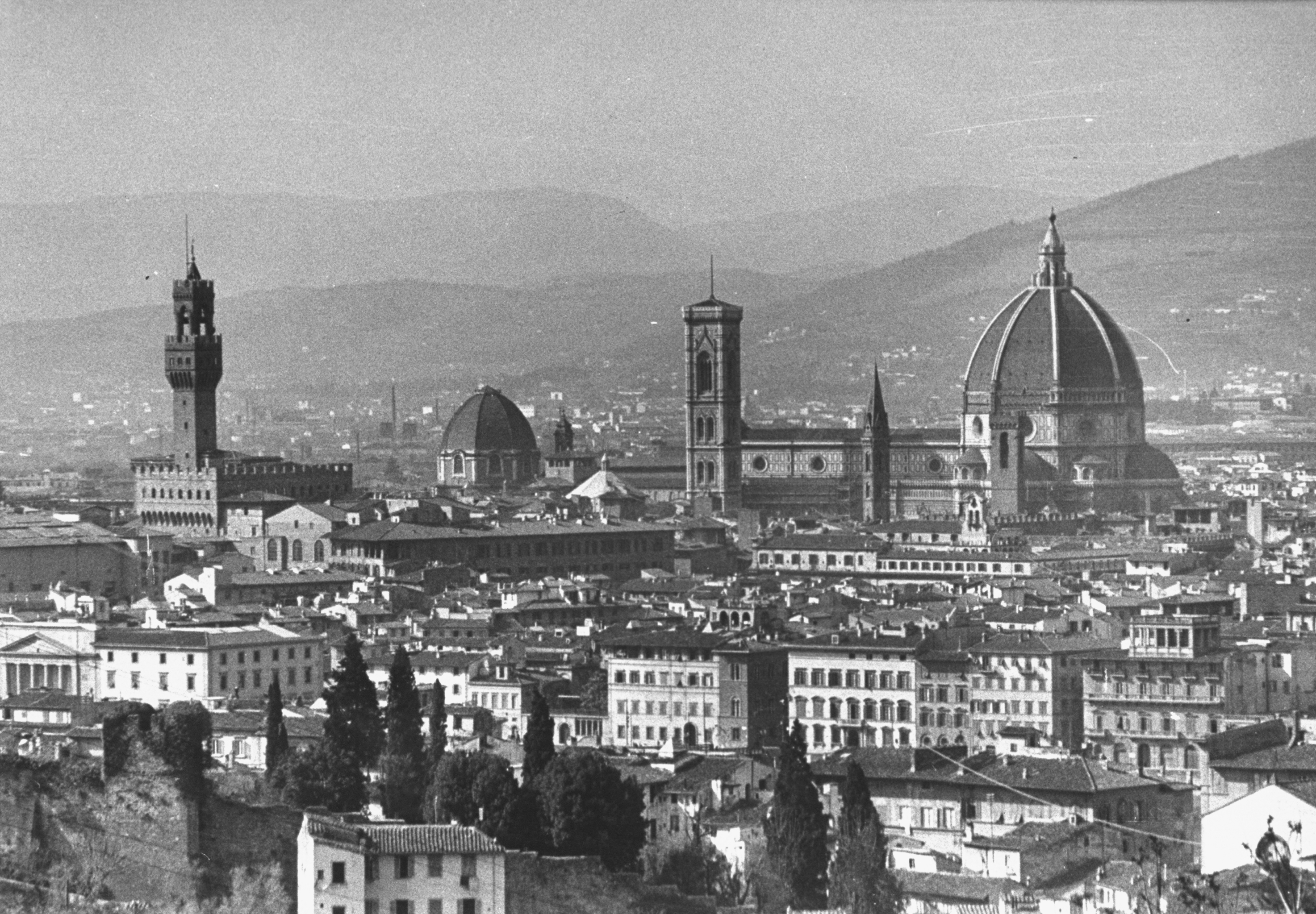 A view of the landscape of the city of Florence