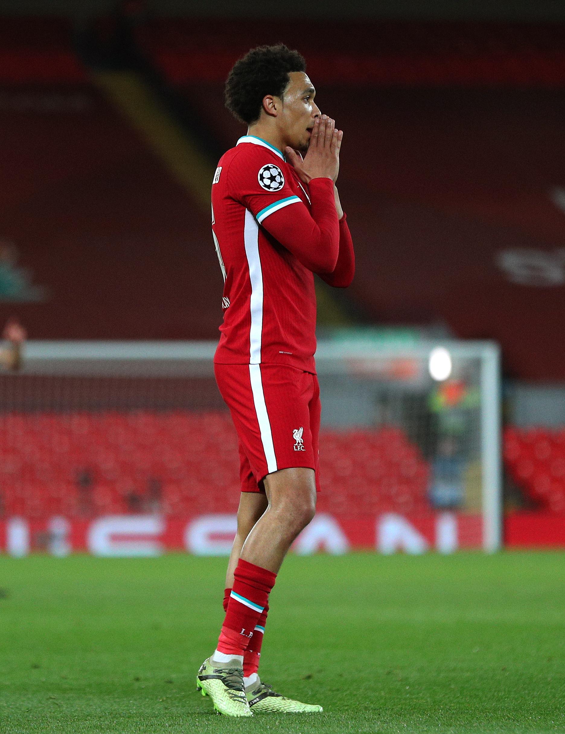 Trent Alexander-Arnold - Liverpool - Premier League - Anfield