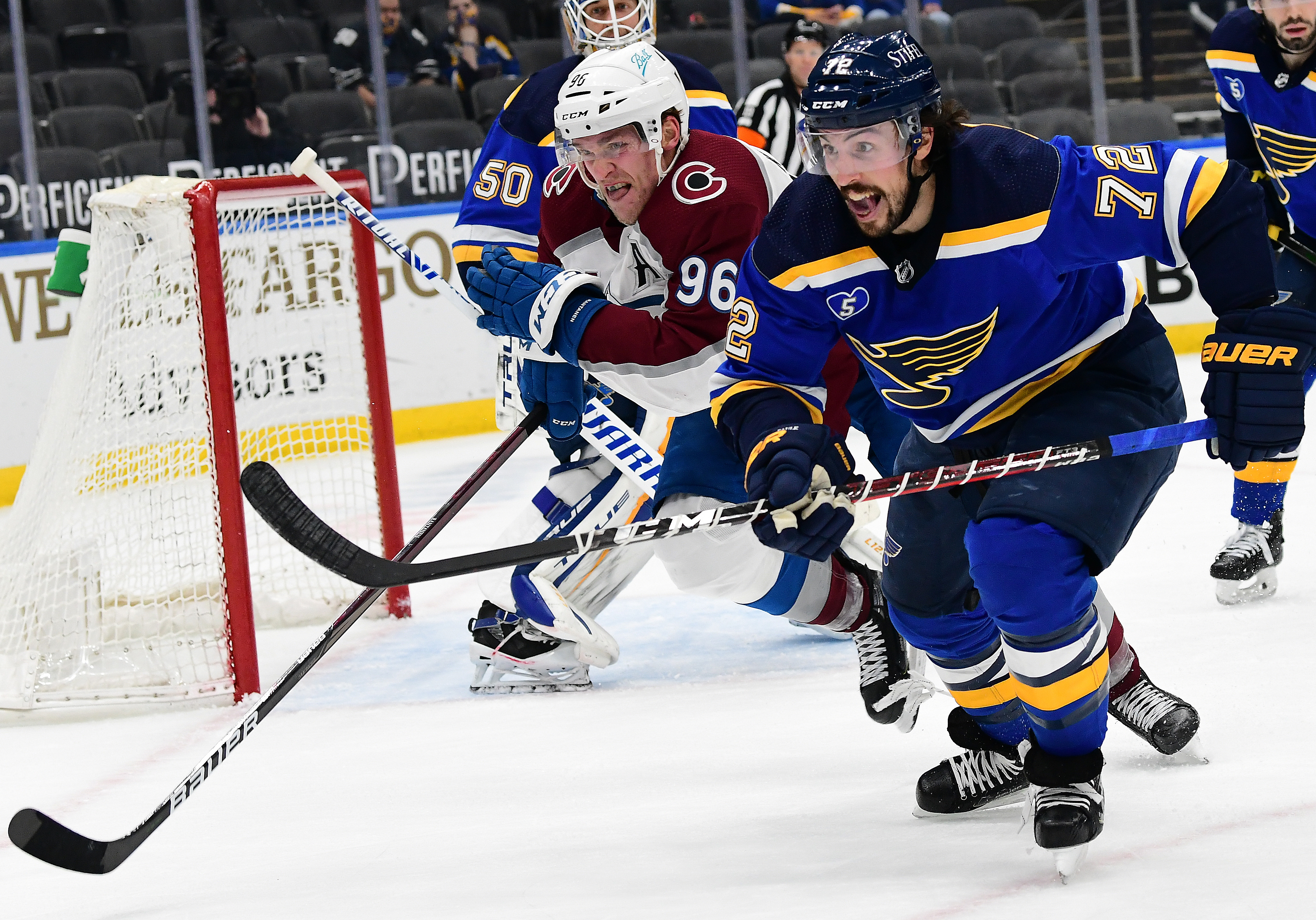 NHL: APR 14 Avalanche at Blues
