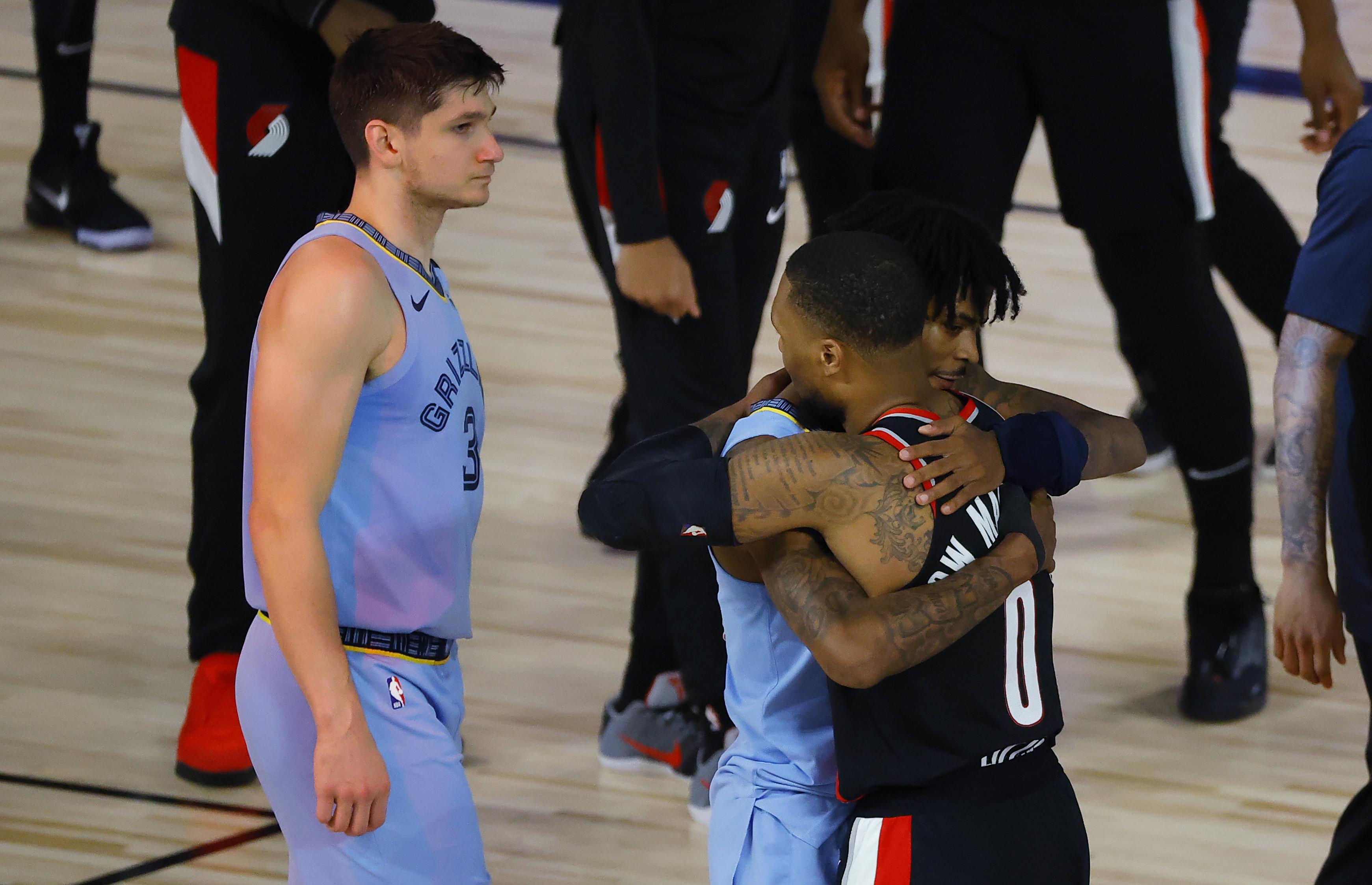 NBA: Play In-Memphis Grizzlies at Portland Trail Blazers
