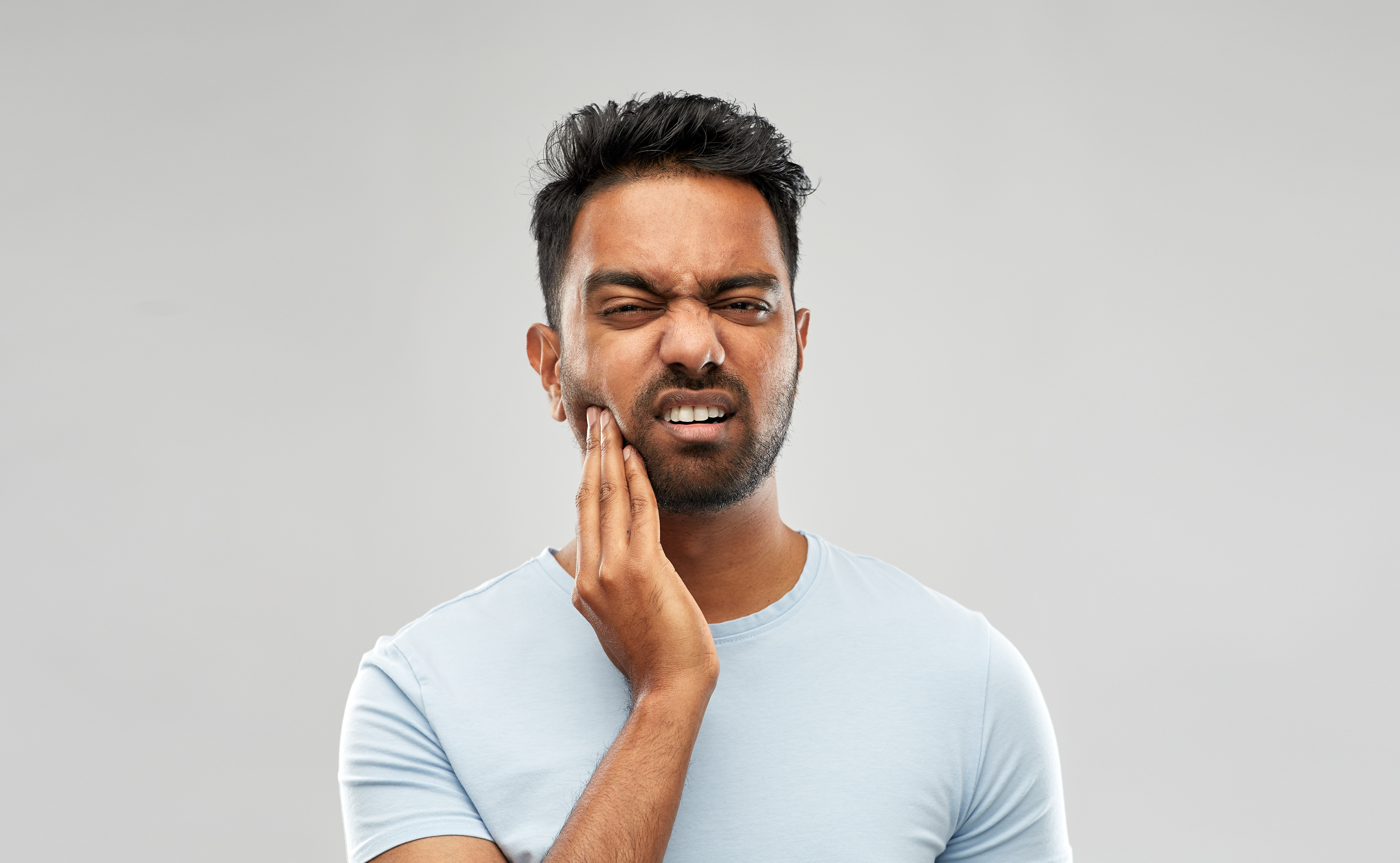 With persistent jaw pain, whether it's from TMD or trismus, it's important to see a doctor for diagnosis.