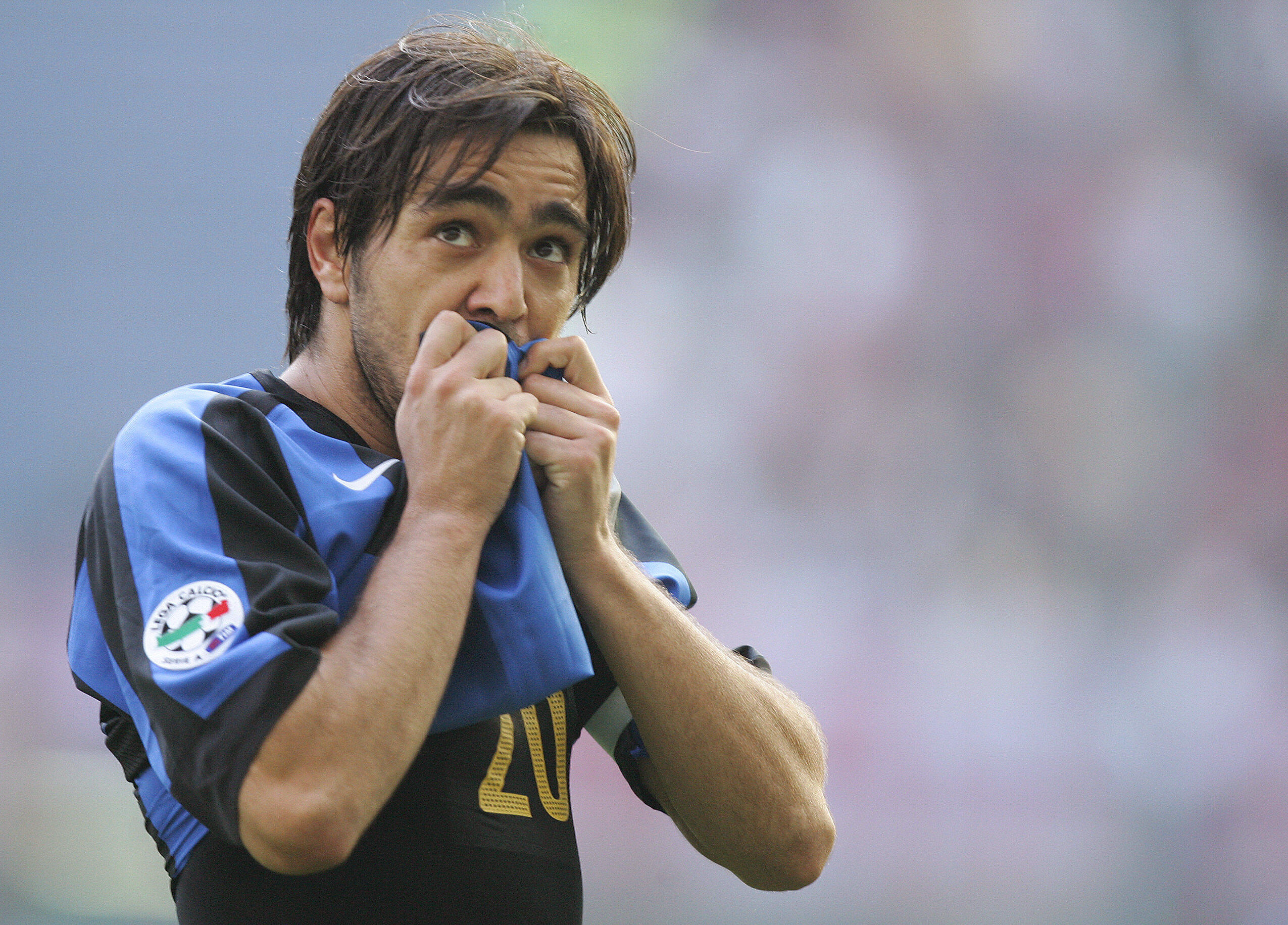 Inter Milan's forward Alvaro Recoba of U