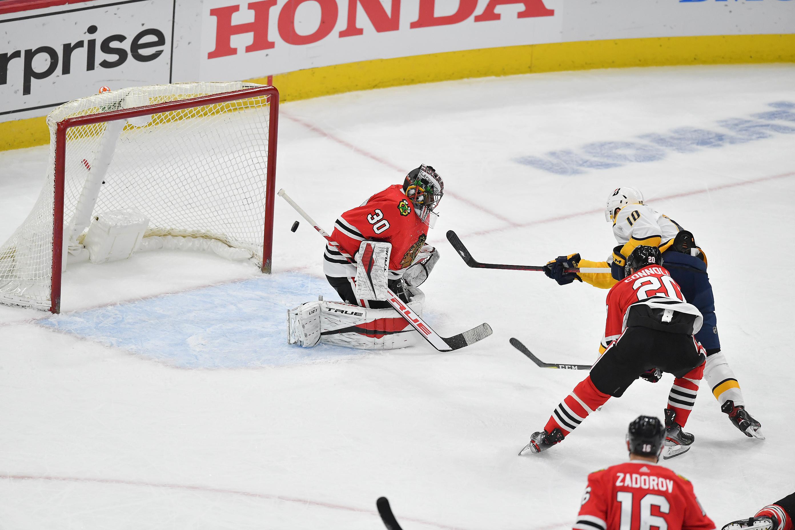 NHL: APR 21 Predators at Blackhawks