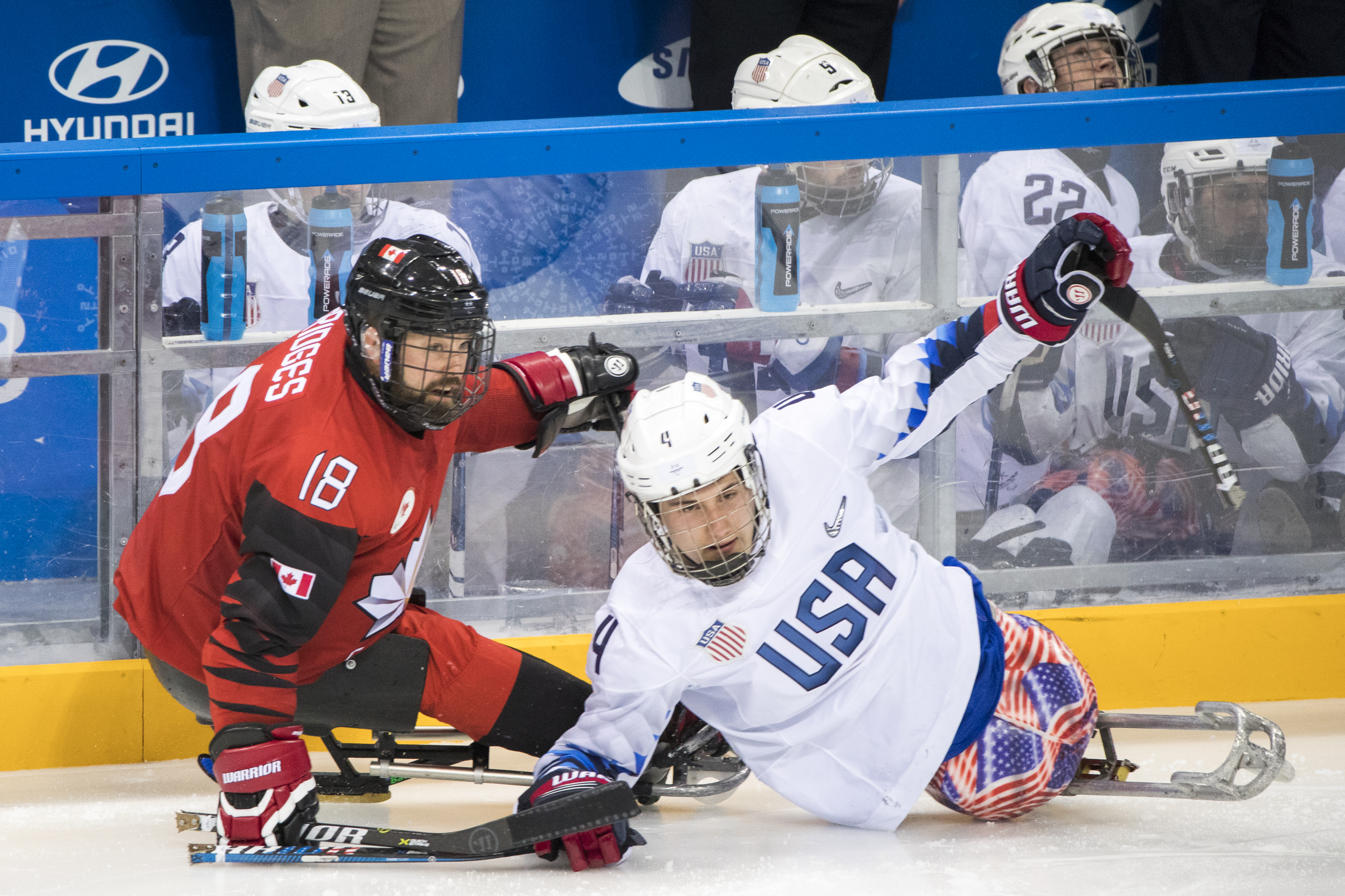 USA v Canada - Paralympic Games - Ice Hockey gold medal match